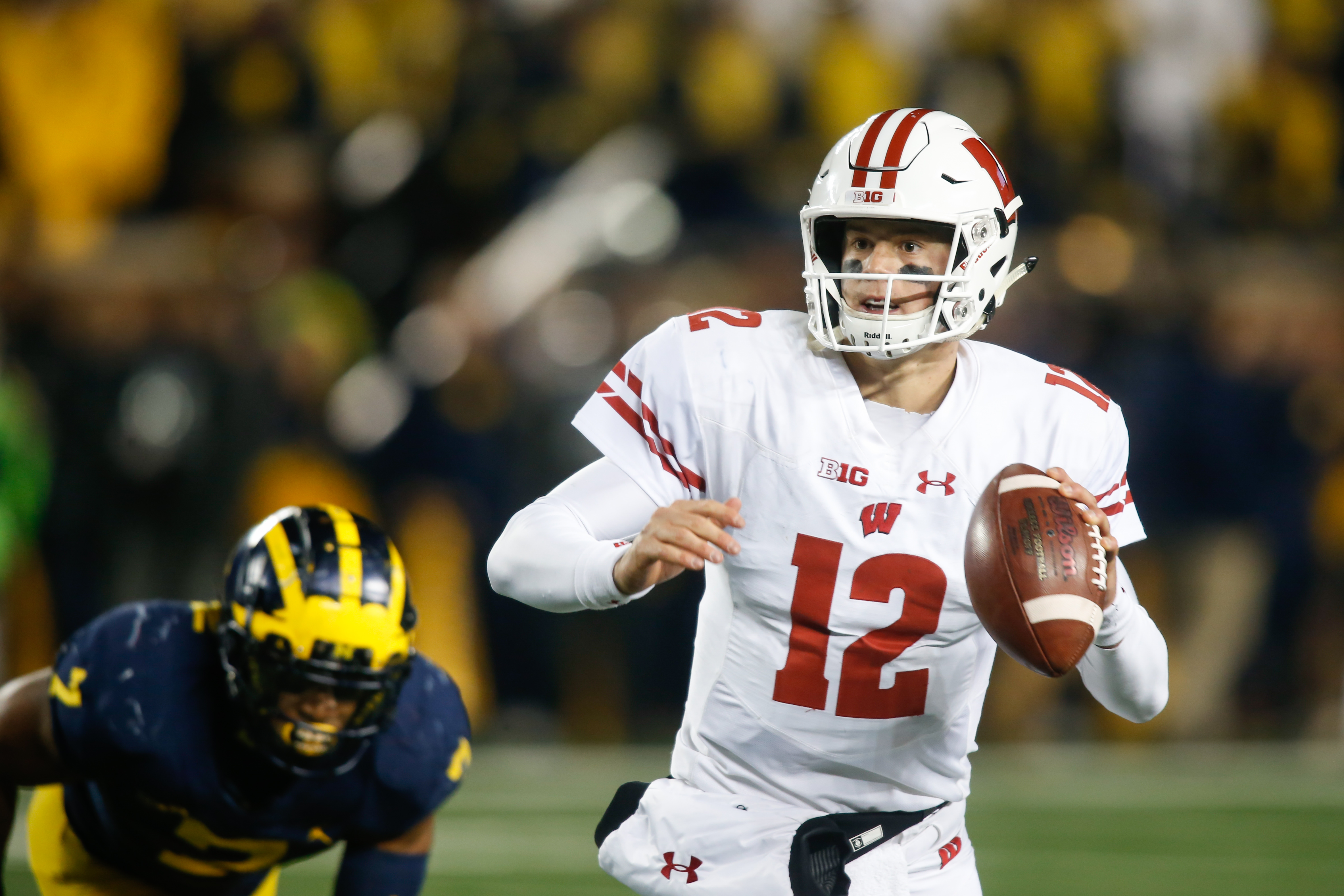 COLLEGE FOOTBALL: OCT 13 Wisconsin at Michigan