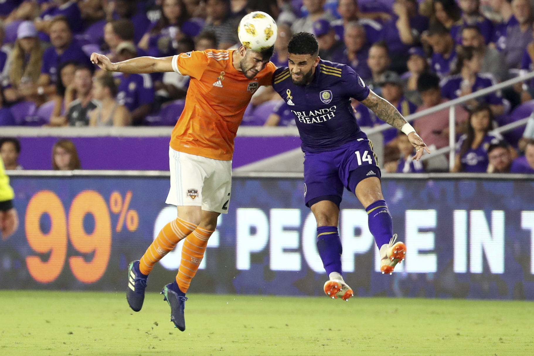 MLS: Houston Dynamo at Orlando City SC