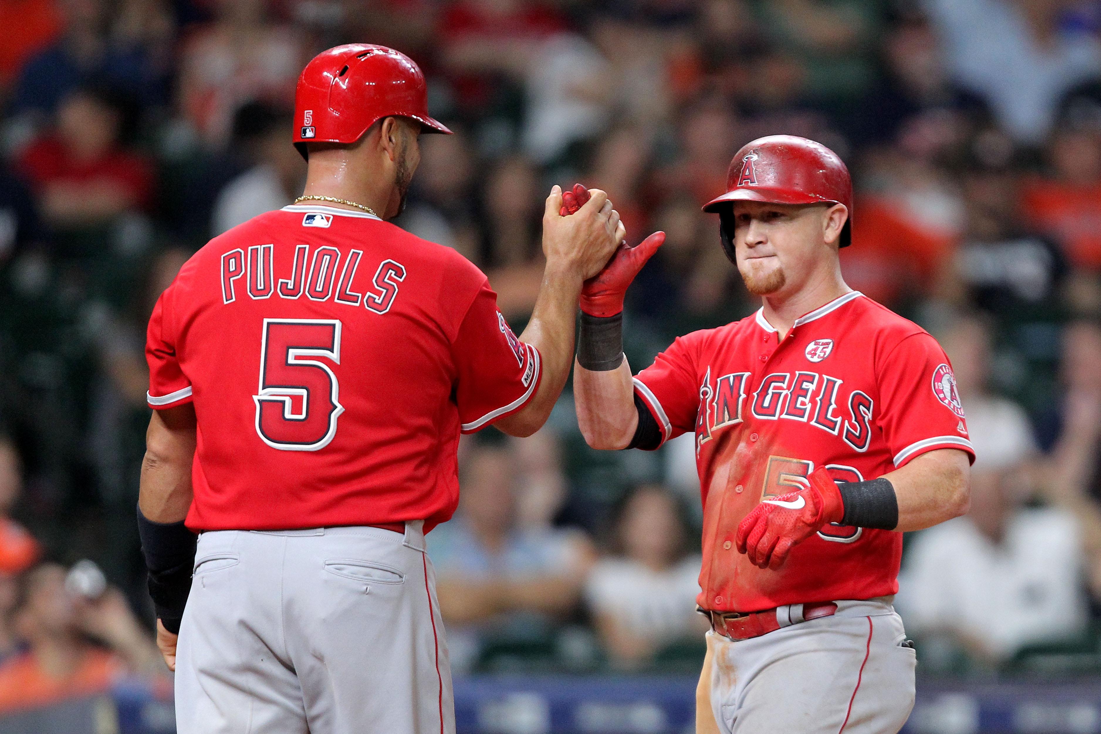 MLB: Los Angeles Angels at Houston Astros