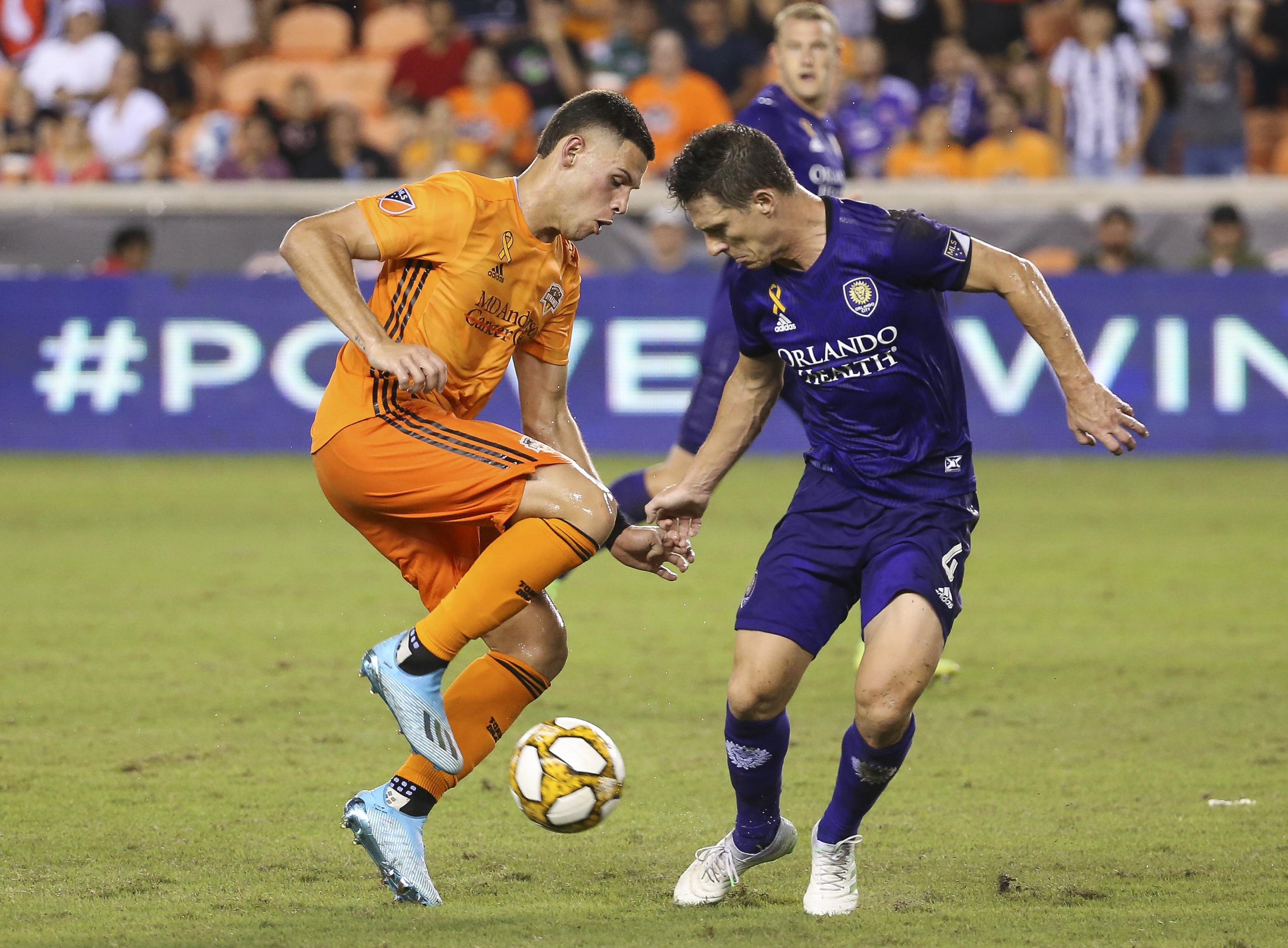 MLS: Orlando City SC at Houston Dynamo