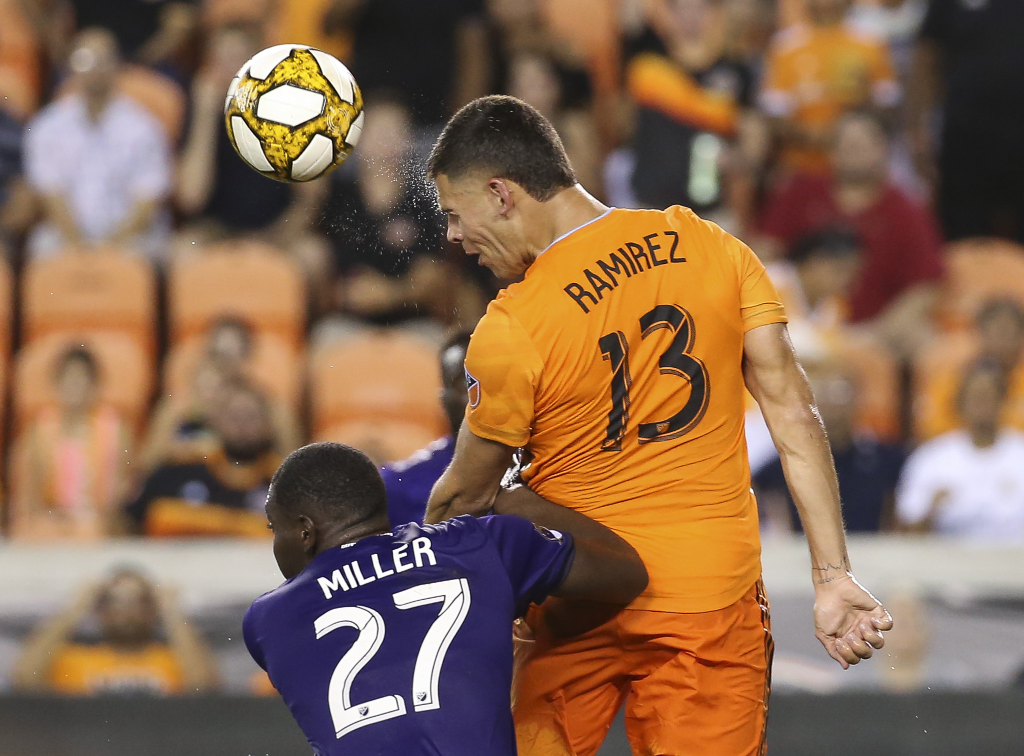 MLS: Orlando City SC at Houston Dynamo