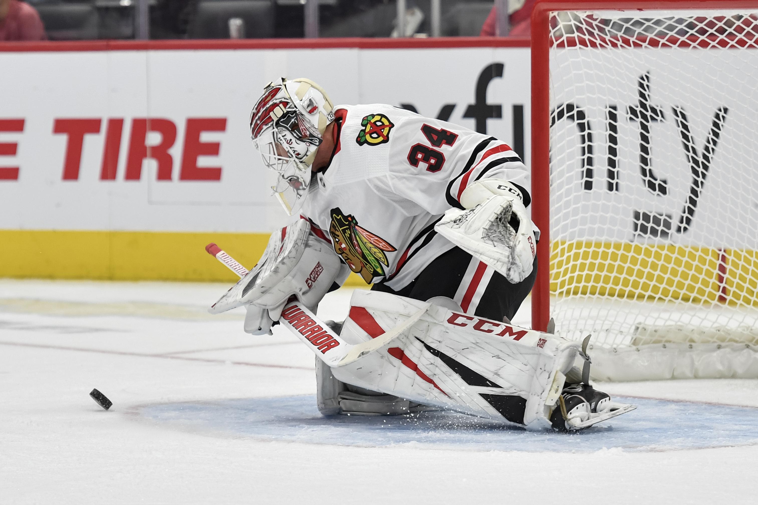 NHL: SEP 17 Preseason - Blackhawks at Red Wings