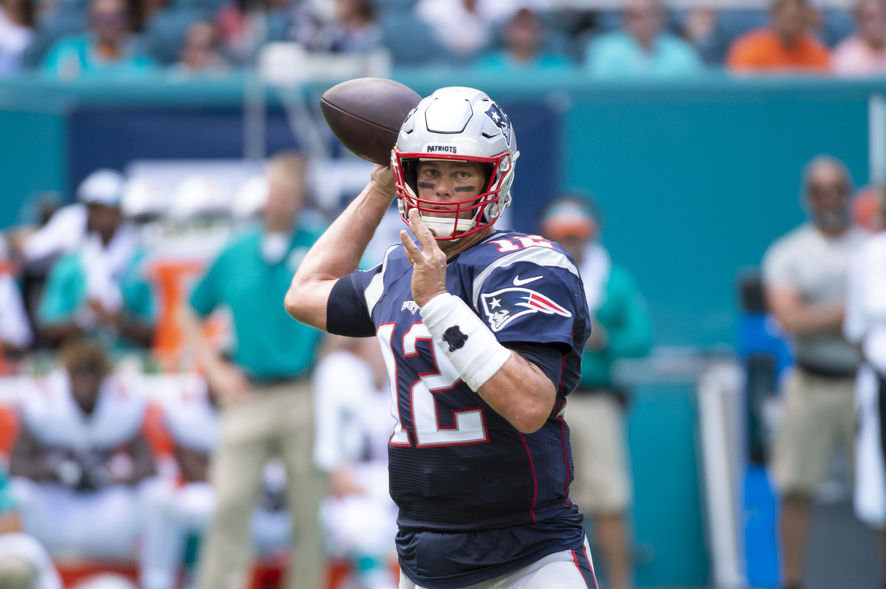 NFL: SEP 15 Patriots at Dolphins