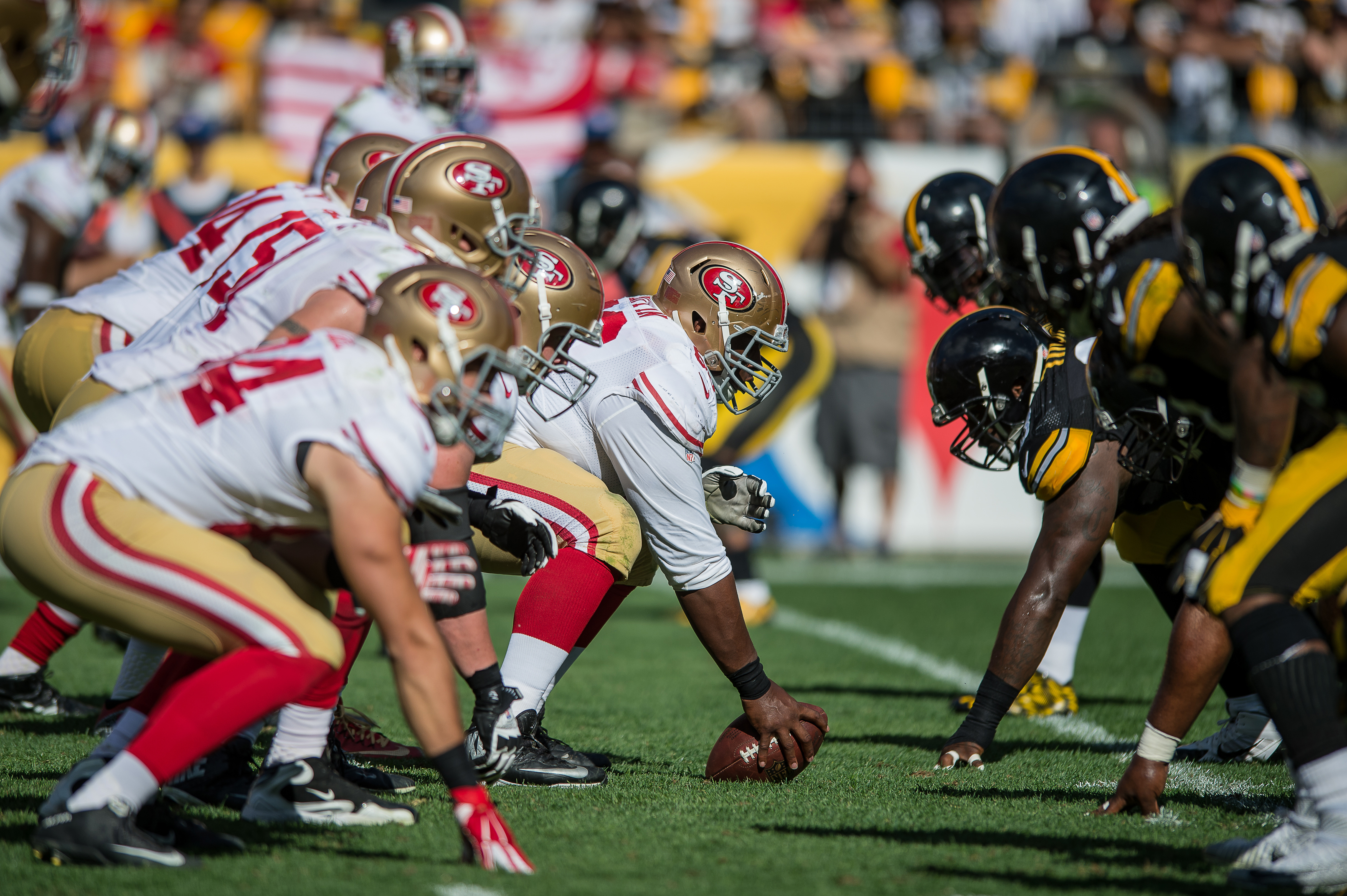 NFL: SEP 20 49ers at Steelers