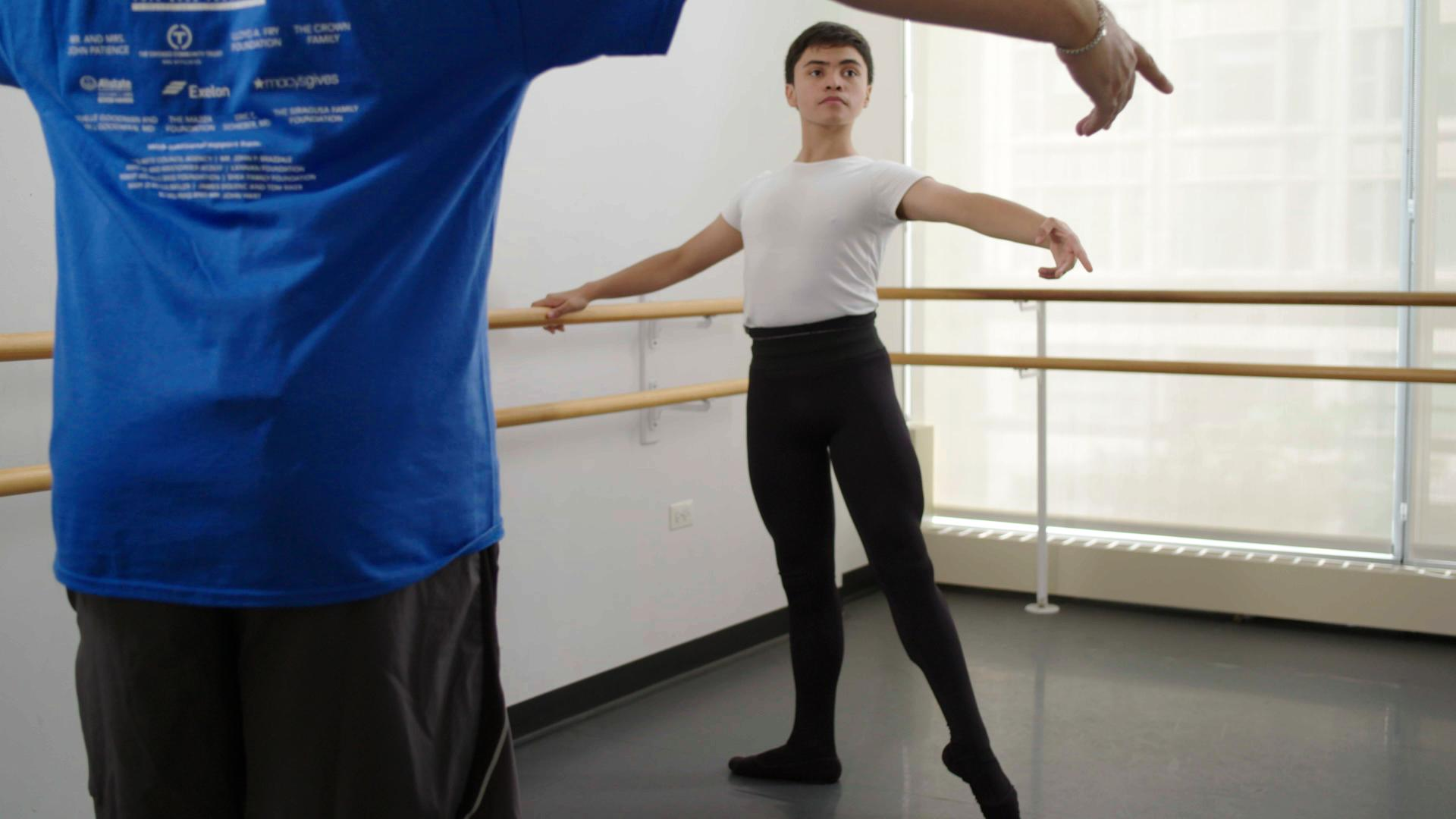 At the age of eight, Christian Ayala (now 14 began his dance journey as part of The Joffrey Ballet Beth Levine Bridge Program.