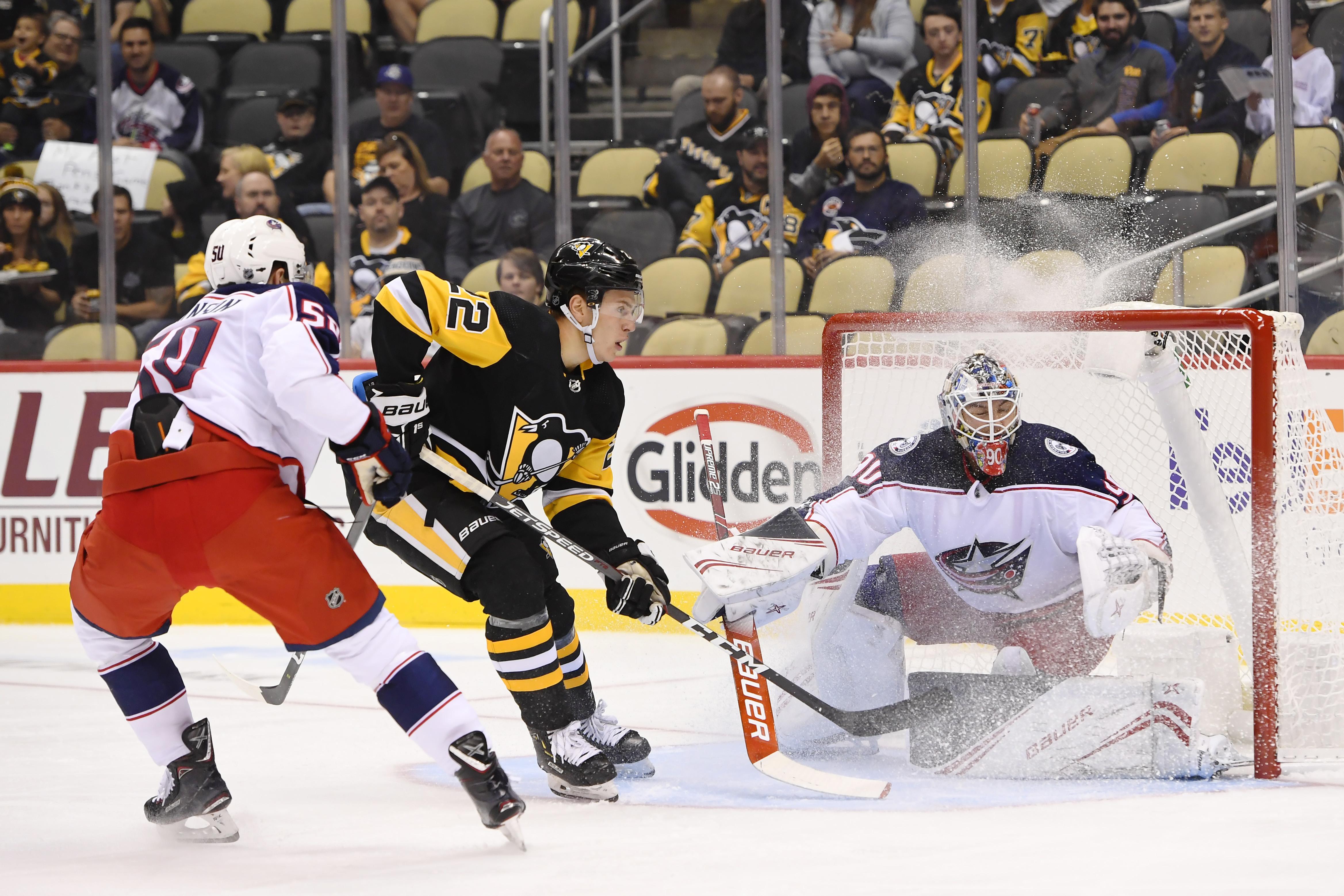 NHL: SEP 19 Preseason - Blue Jackets at Penguins