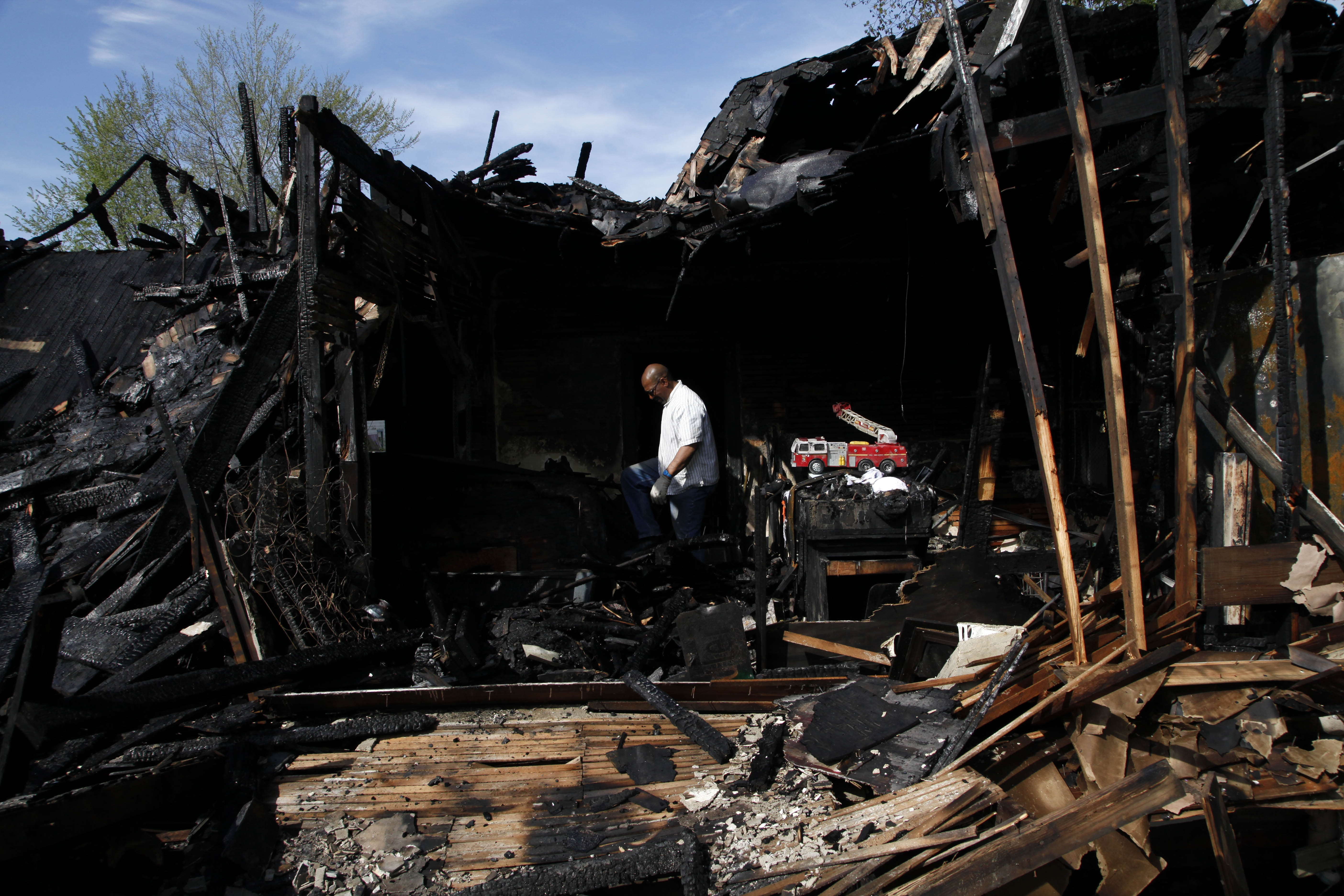 Fire destroys another building at the Heidelberg Project