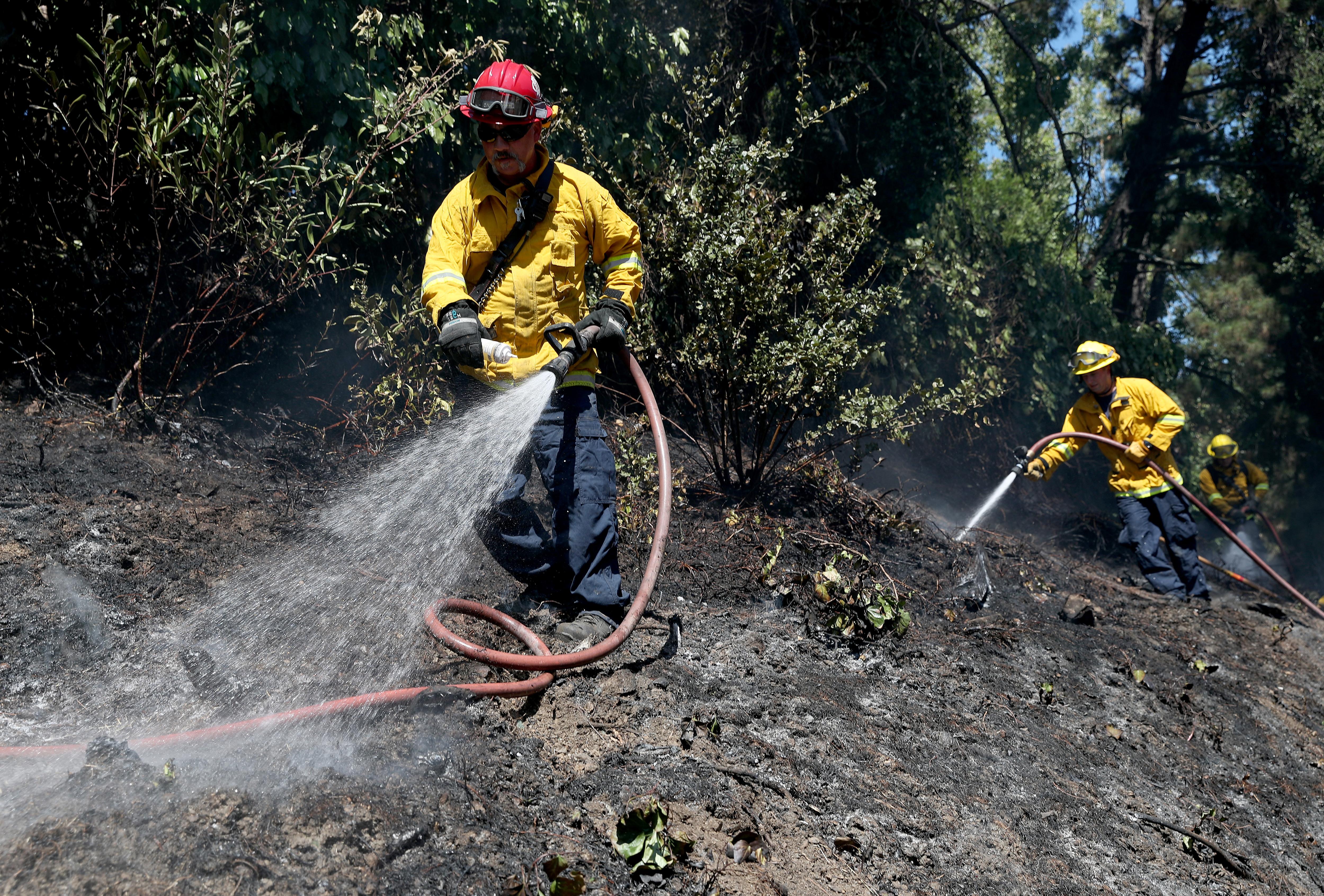Oakland Hills Grass Fire