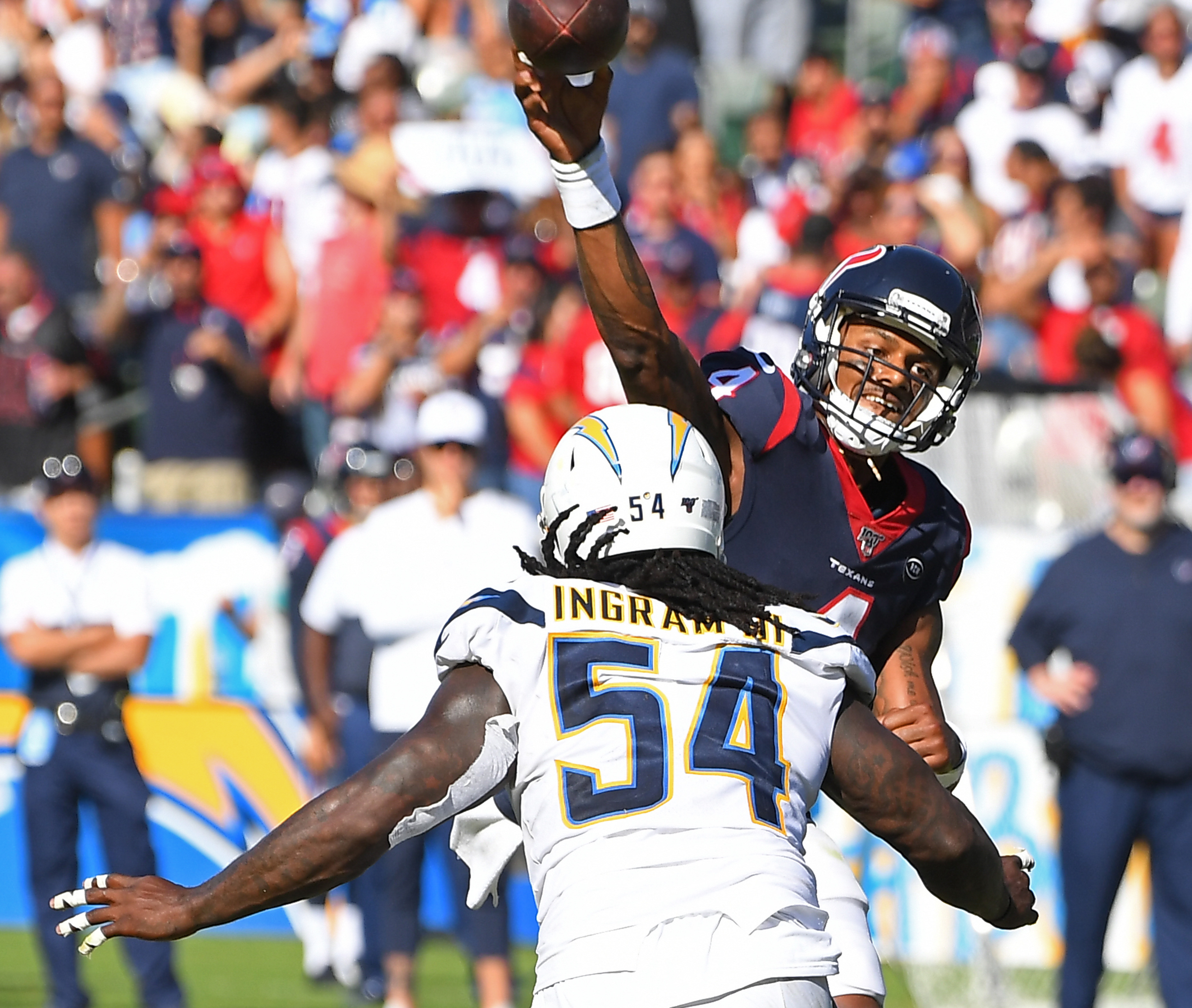 Houston Texans v Los Angeles Chargers