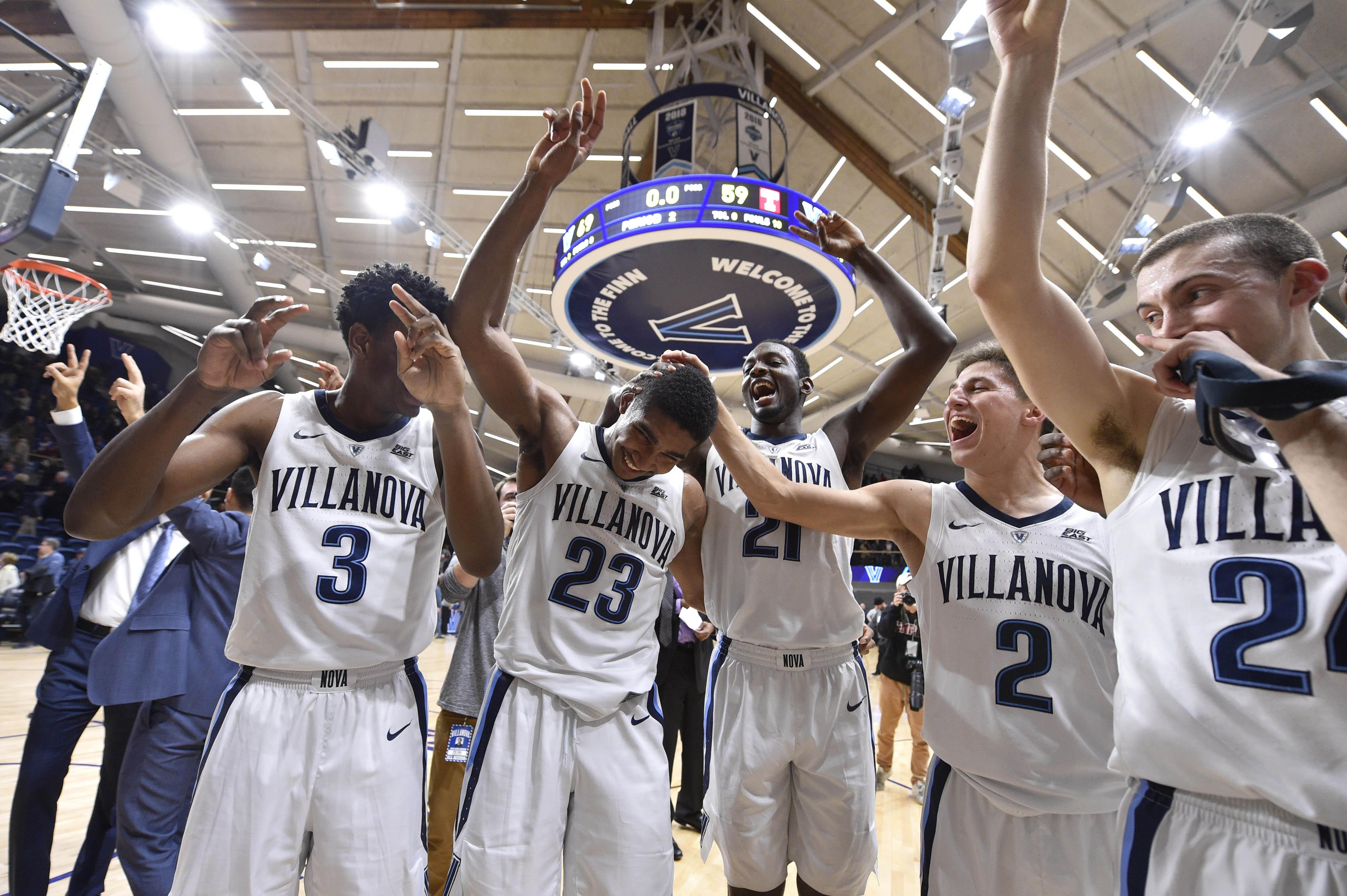 NCAA Basketball: Temple at Villanova