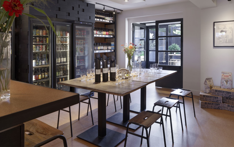 Wine bar at Yardarm Leyton