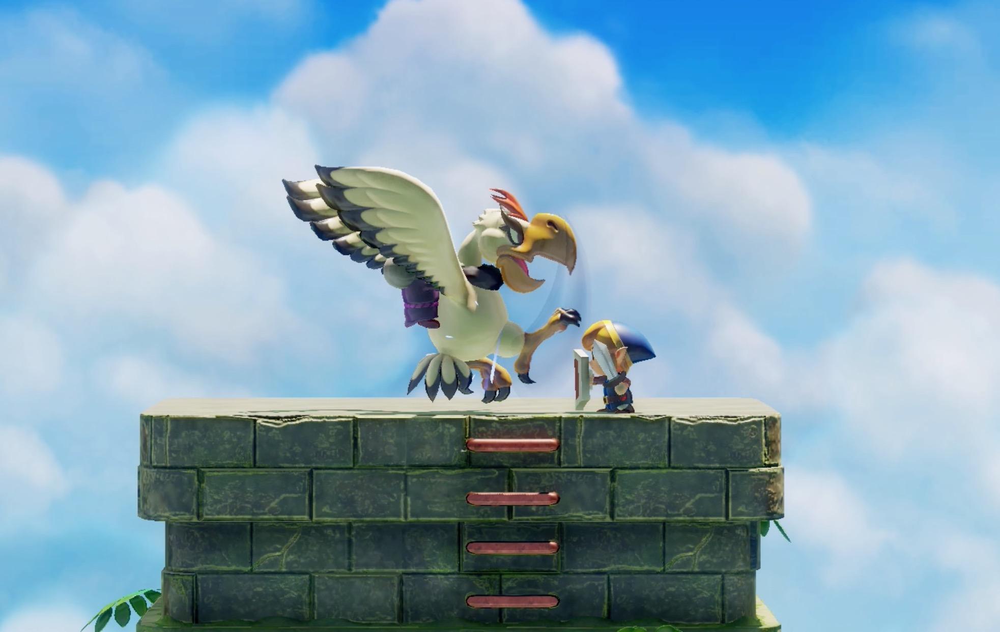 Link's Awakening Eagle's Tower walkthrough