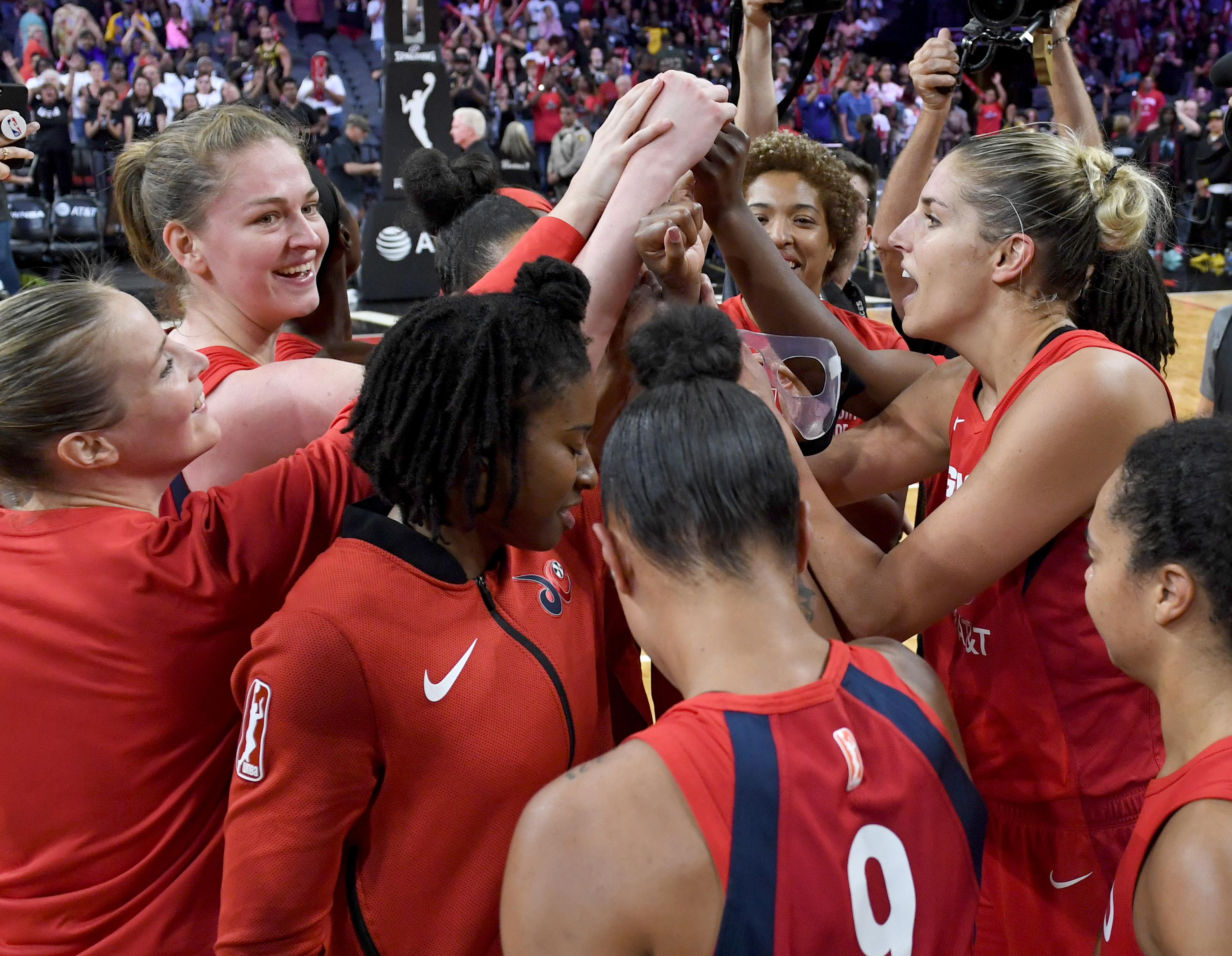 Mystics hit the weight room, send Aces to the waiting room