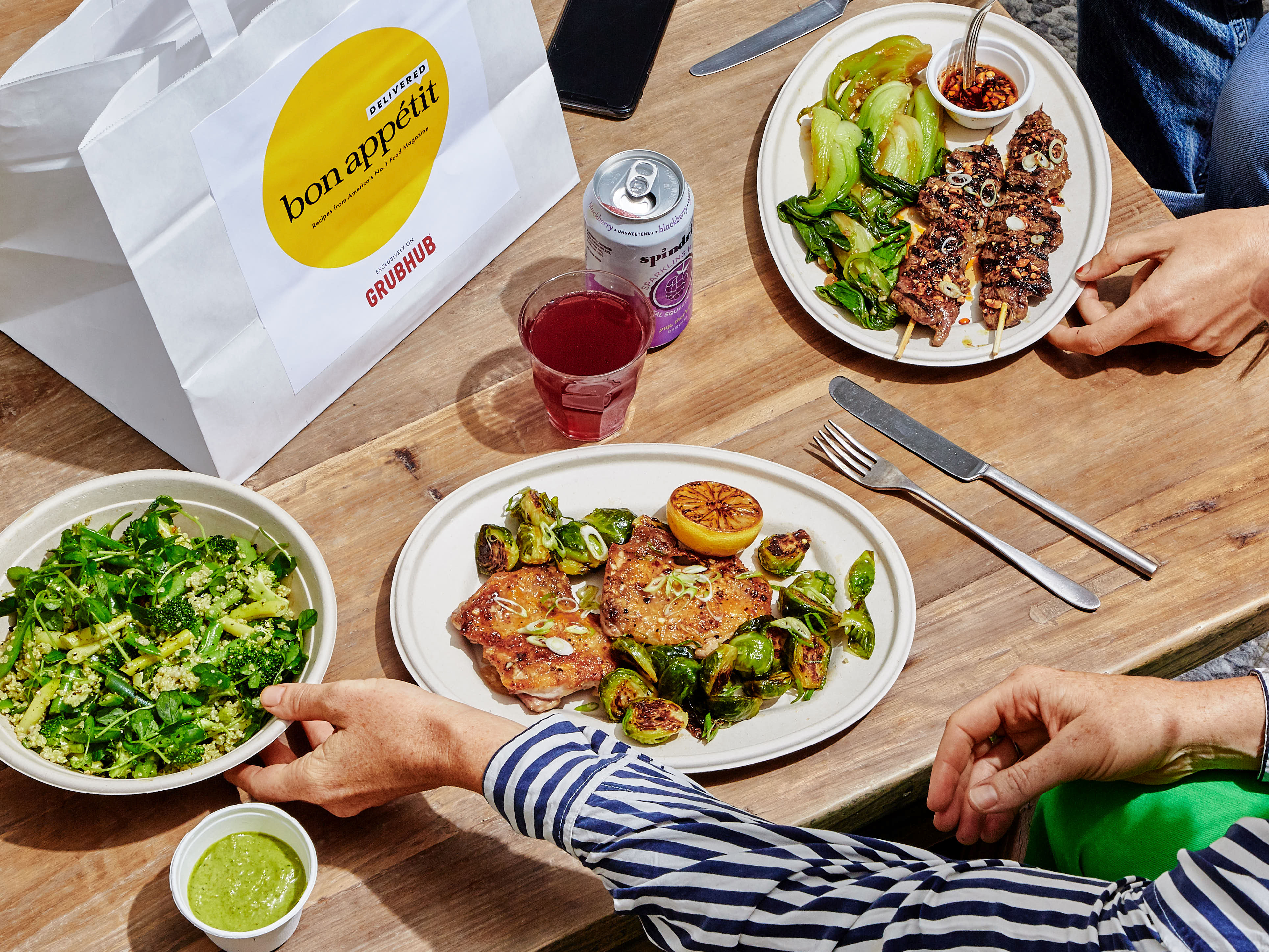Some of Bon Appetit magazine's most popular dishes are now available exclusively in Chicago via Grubhub.