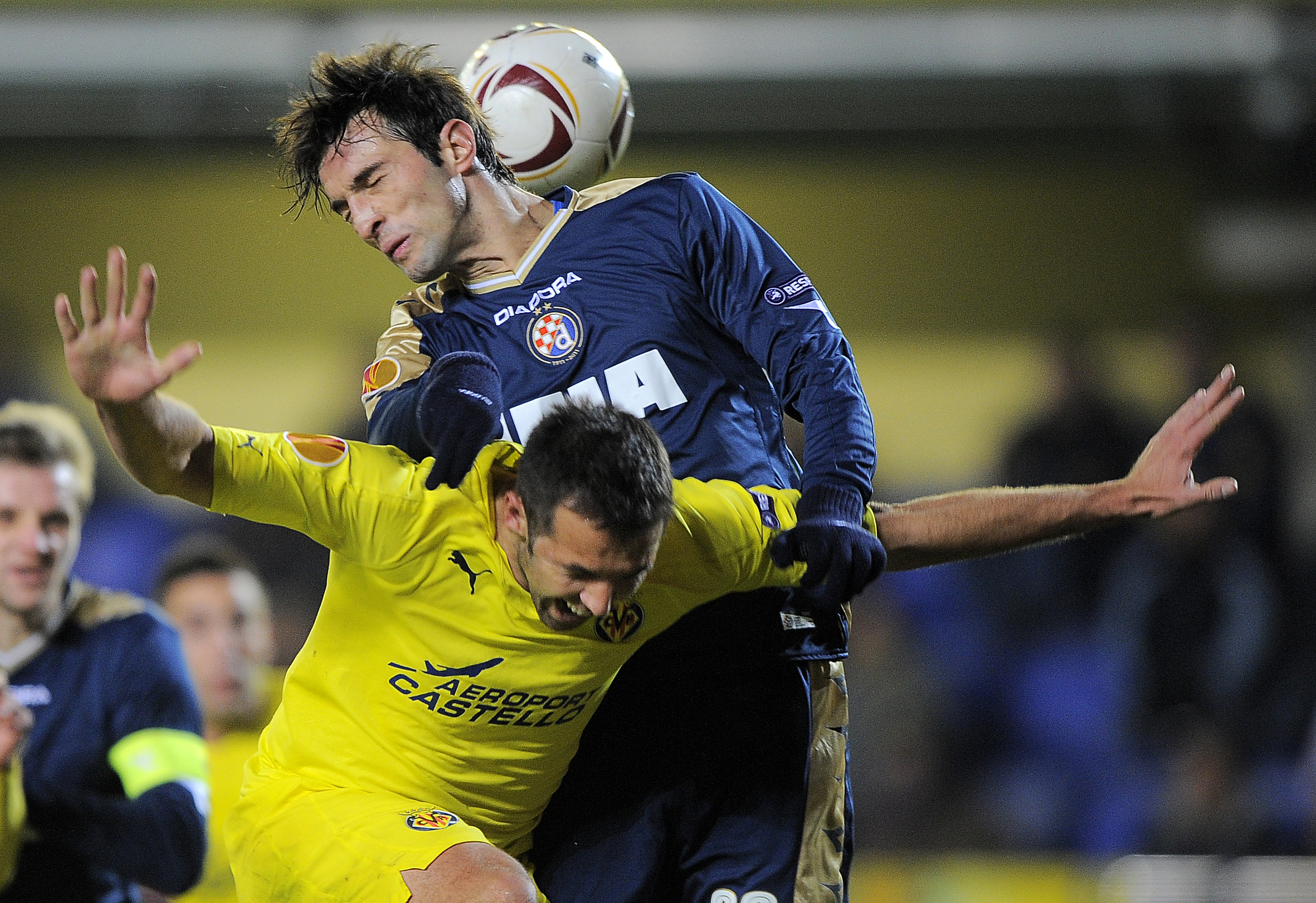 Villarreal's defender Carlos Marchena (B