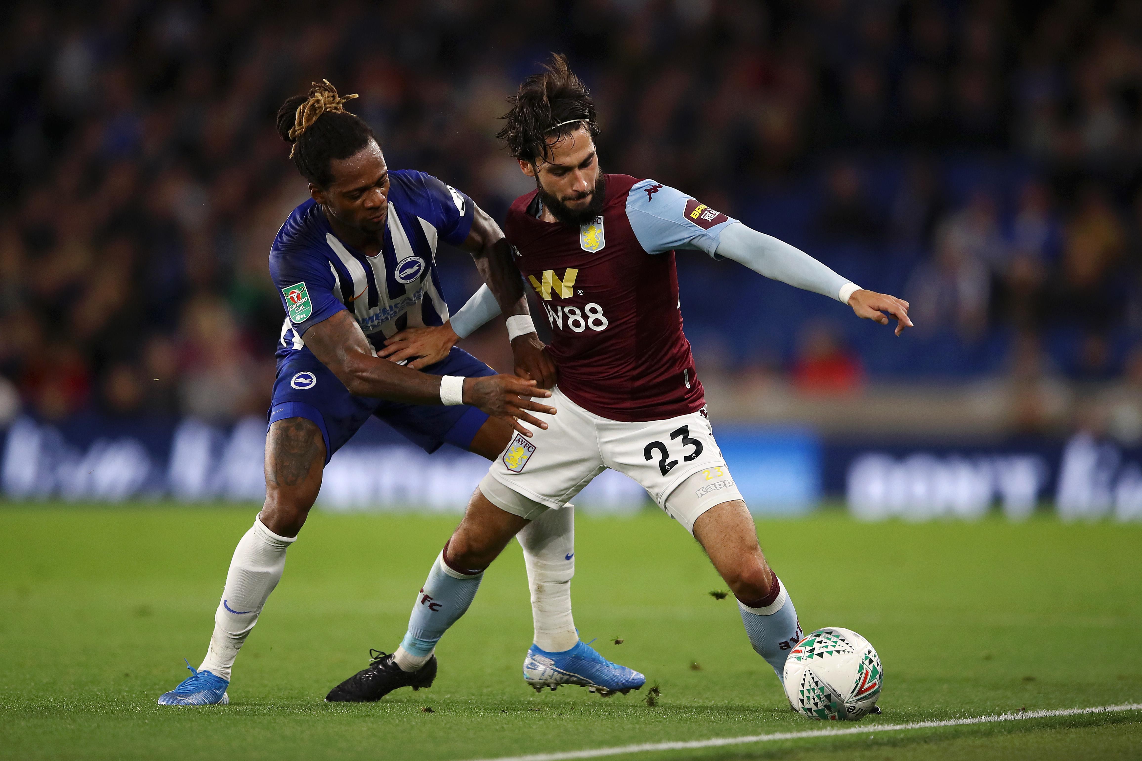 Brighton & Hove Albion v Aston Villa - Carabao Cup Third Round