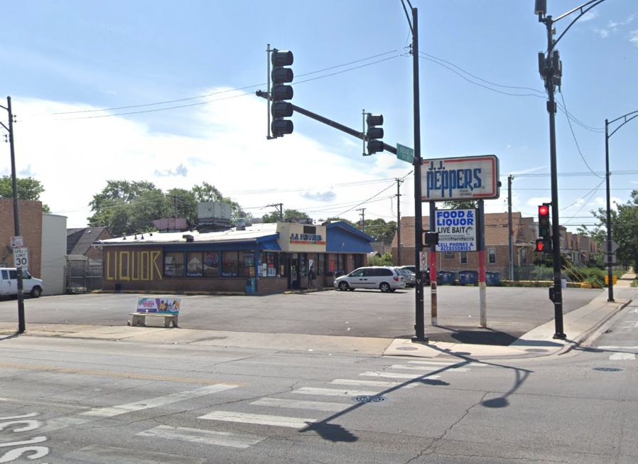 A man was shot Sept. 25, 2019, at a JJ Peppers store, 7101 S. Kedzie Ave., in Marquette Park.