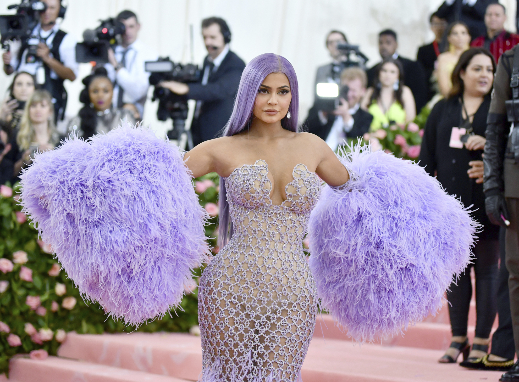 Kylie Jenner attends The Metropolitan Museum of Art's Costume Institute benefit gala in May.