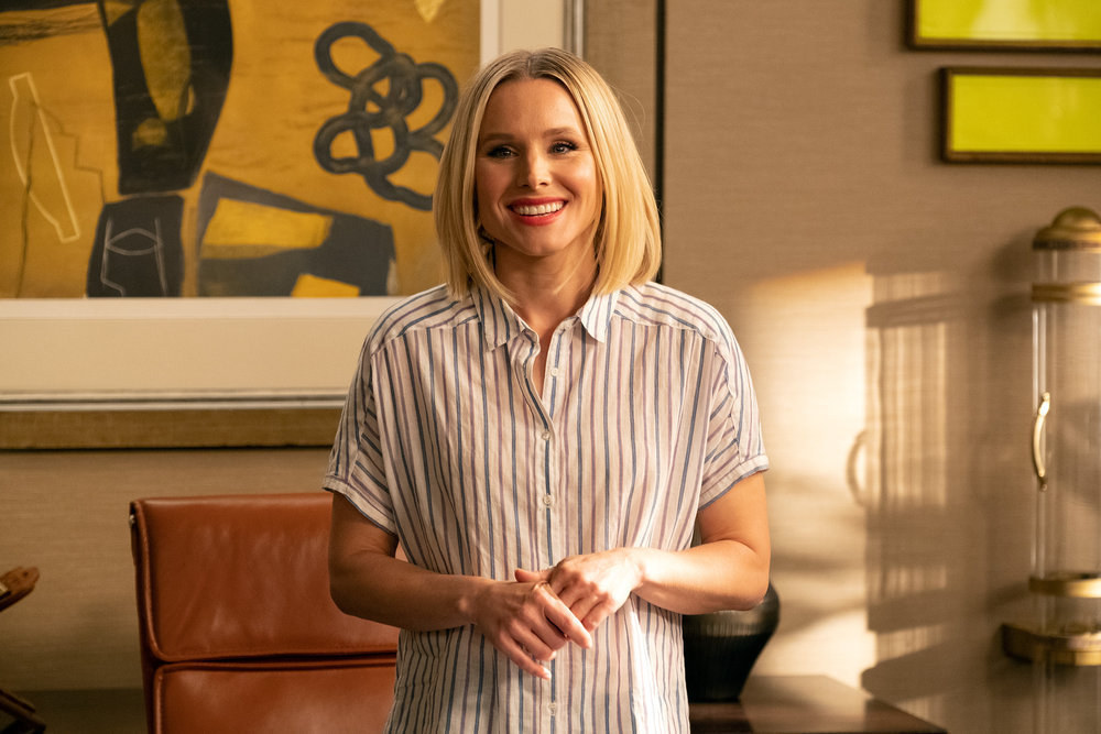 Eleanor takes charge in the final season of The Good Place.