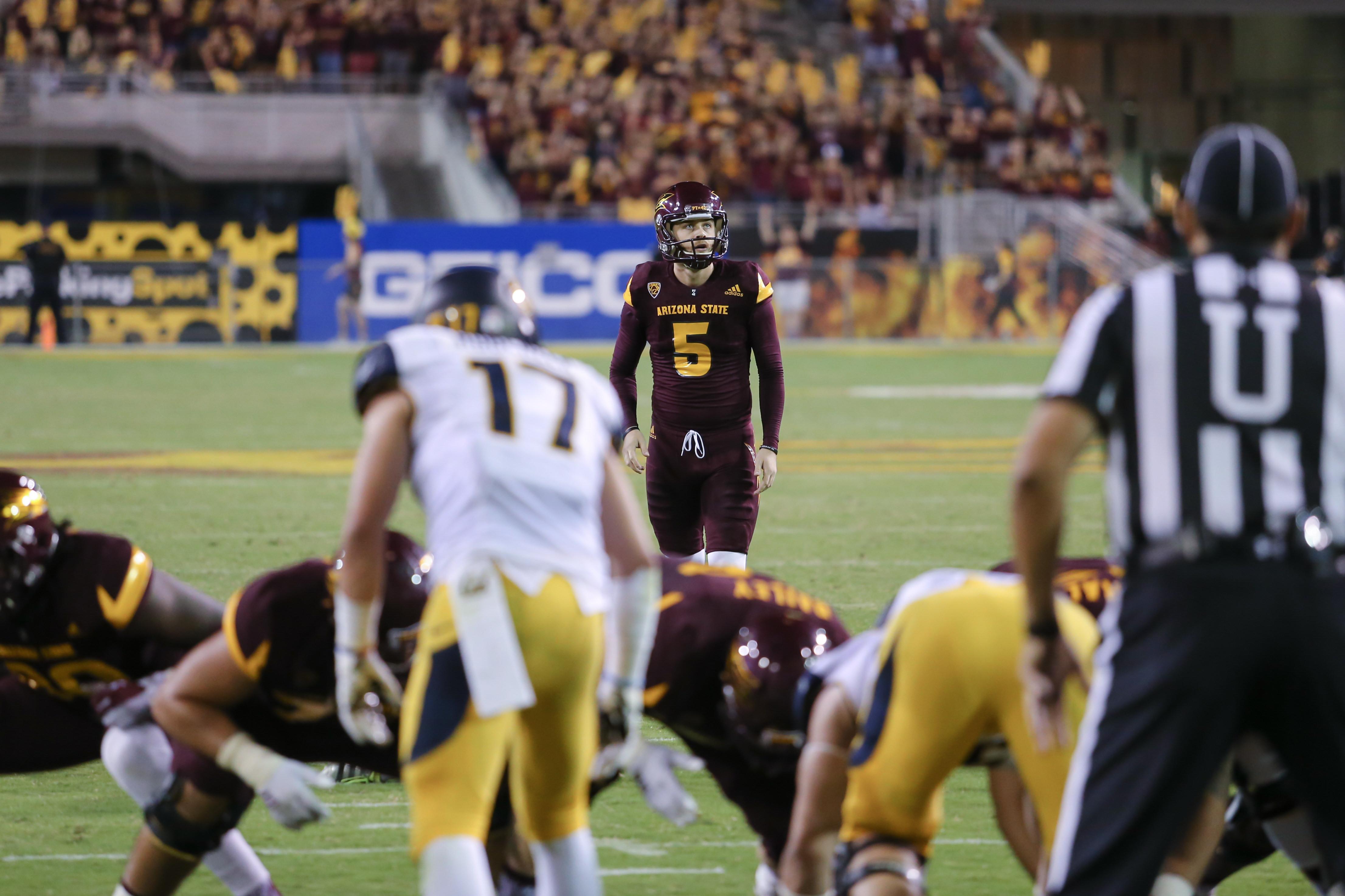 NCAA FOOTBALL: SEP 24 Cal at Arizona State