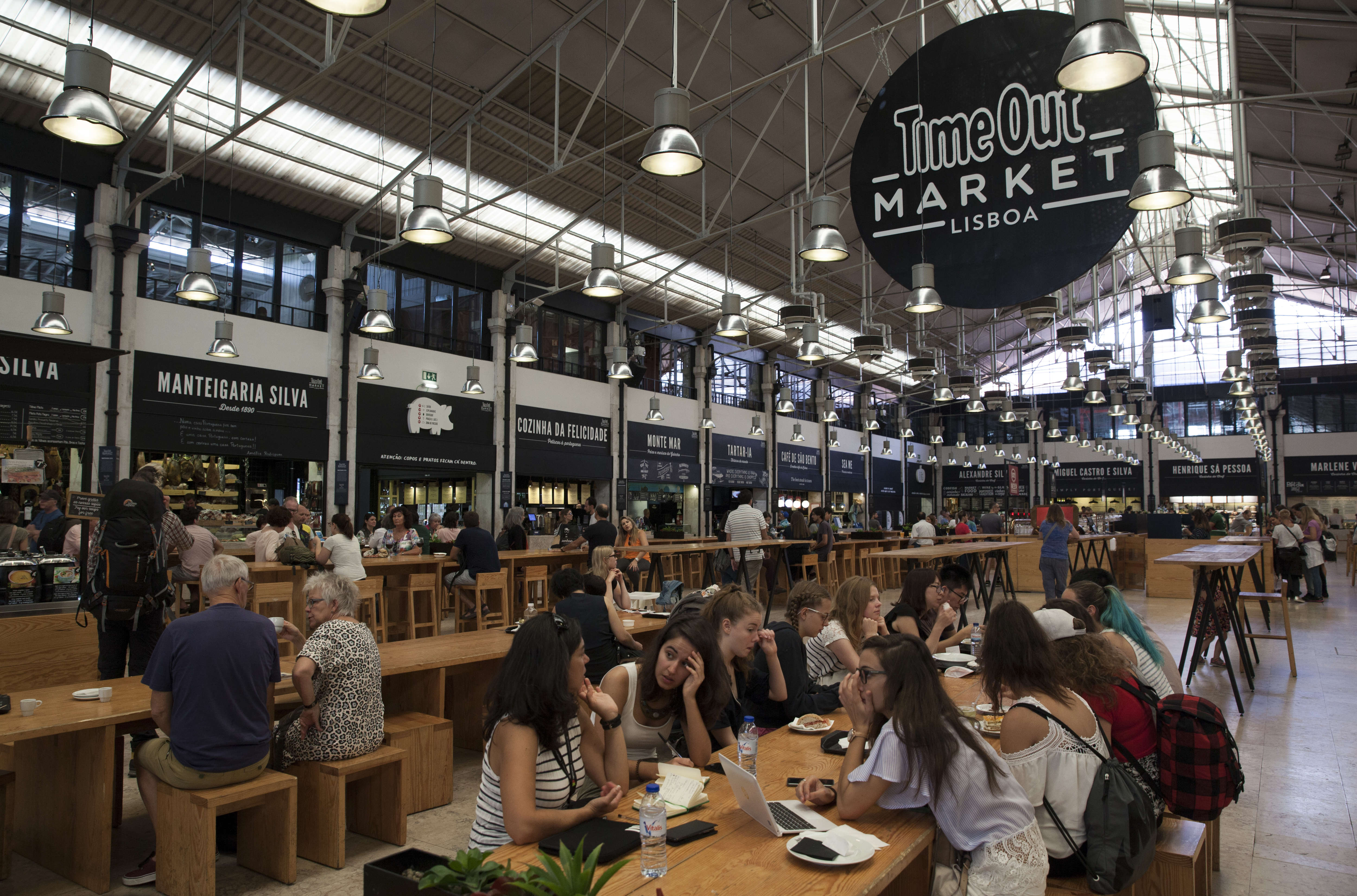 Time Out Resumes Attempt to Open a Food Market Opposite a Food Market in East London