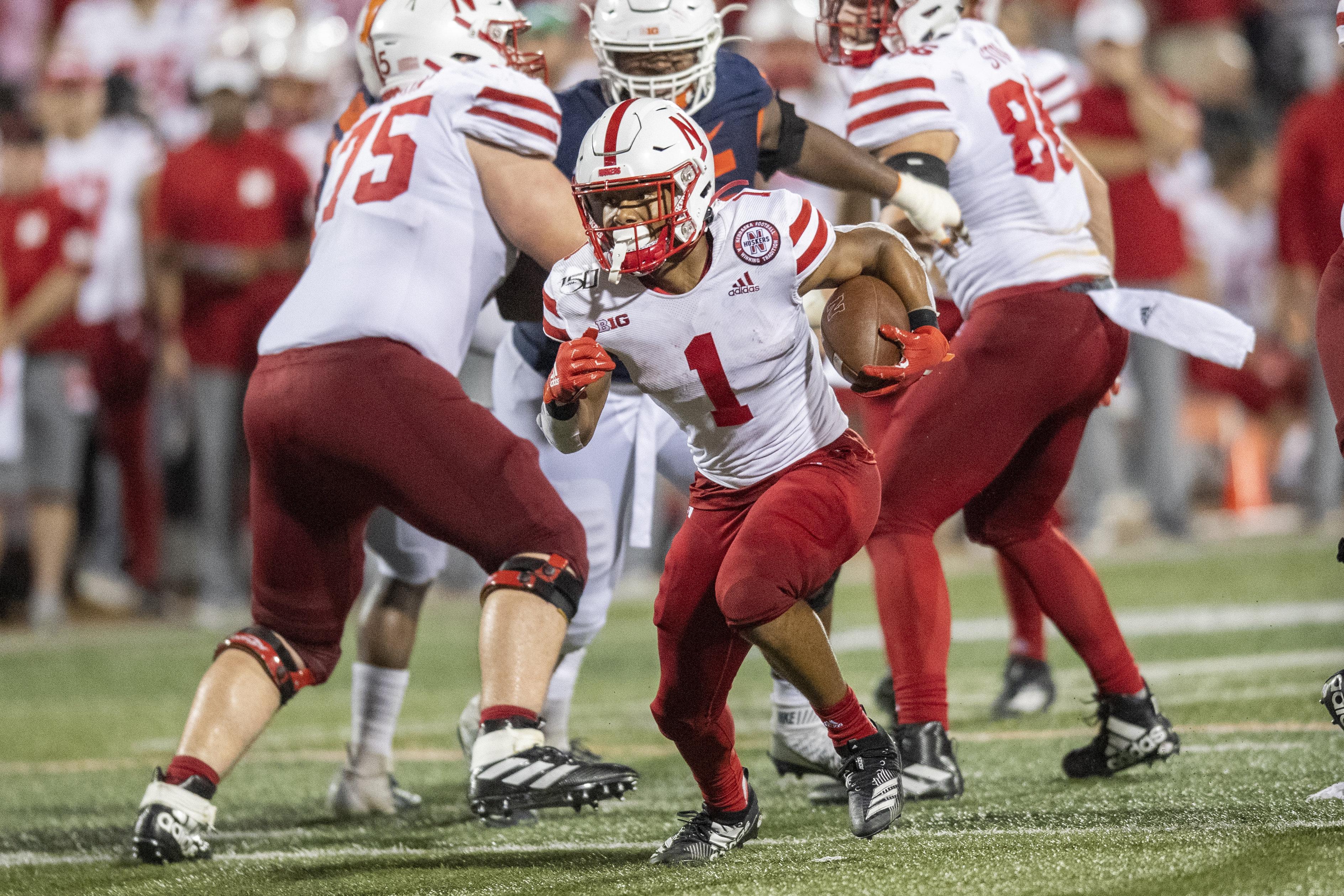 NCAA Football: Nebraska at Illinois