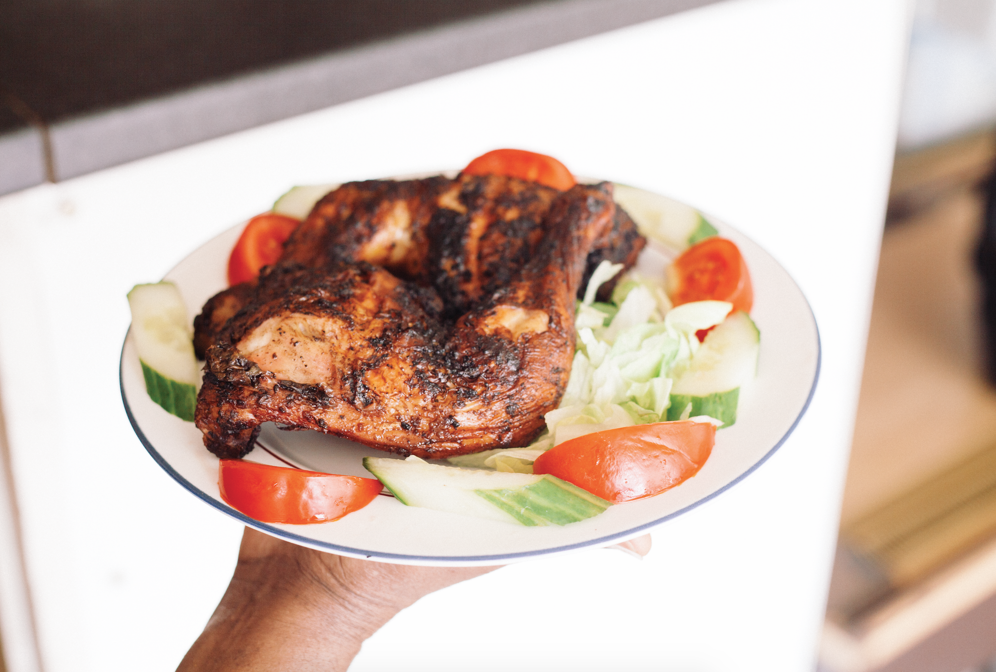 London's best Caribbean jerk: Smokey Jerkey restaurant on New Cross Road