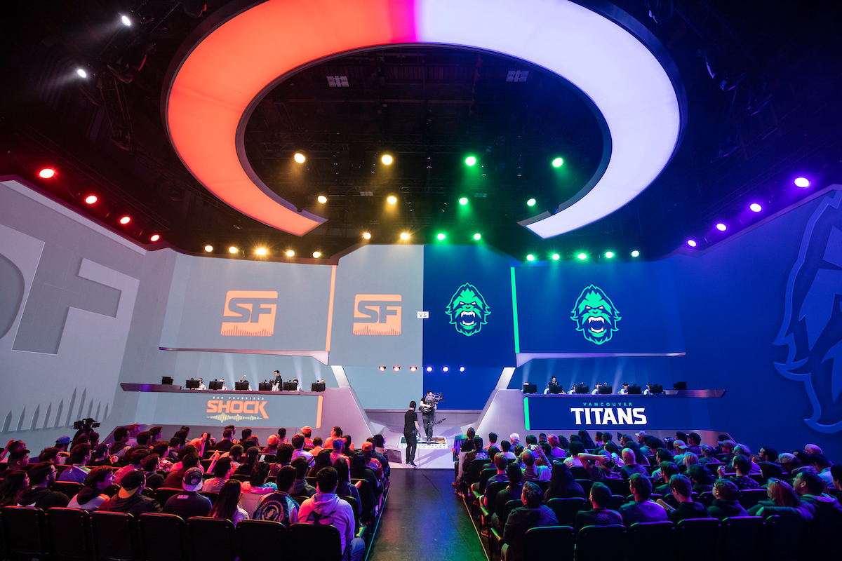 Overwatch League - The Shock and Titans face off in a regular season game
