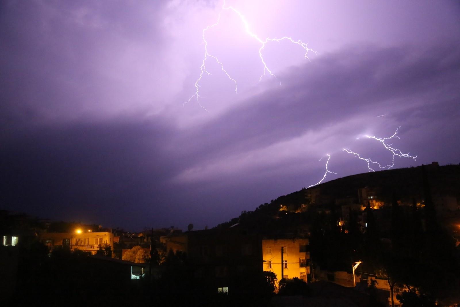 Lightnings over Mugla