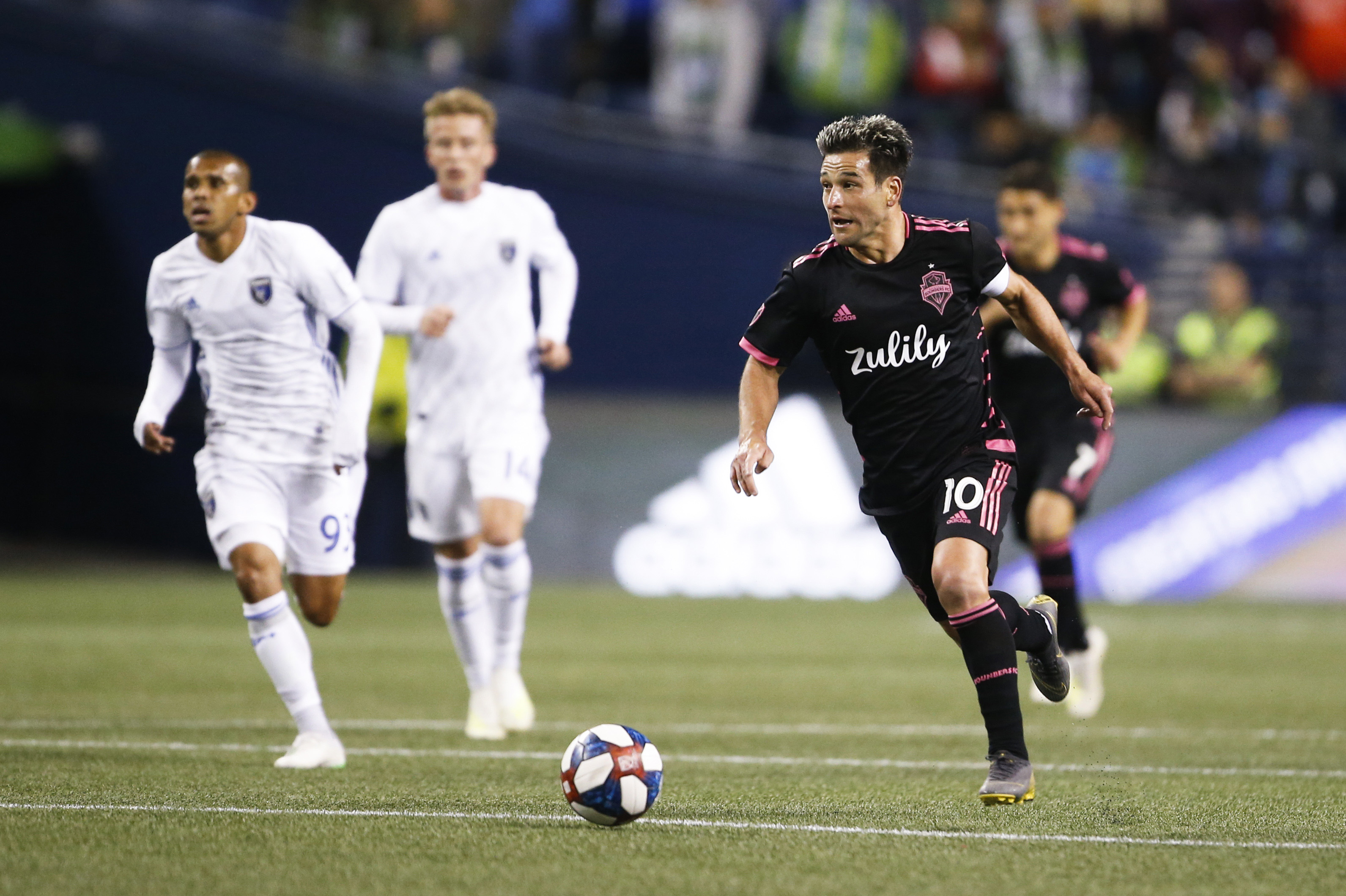 MLS:在西雅图海湾FC圣何塞地震