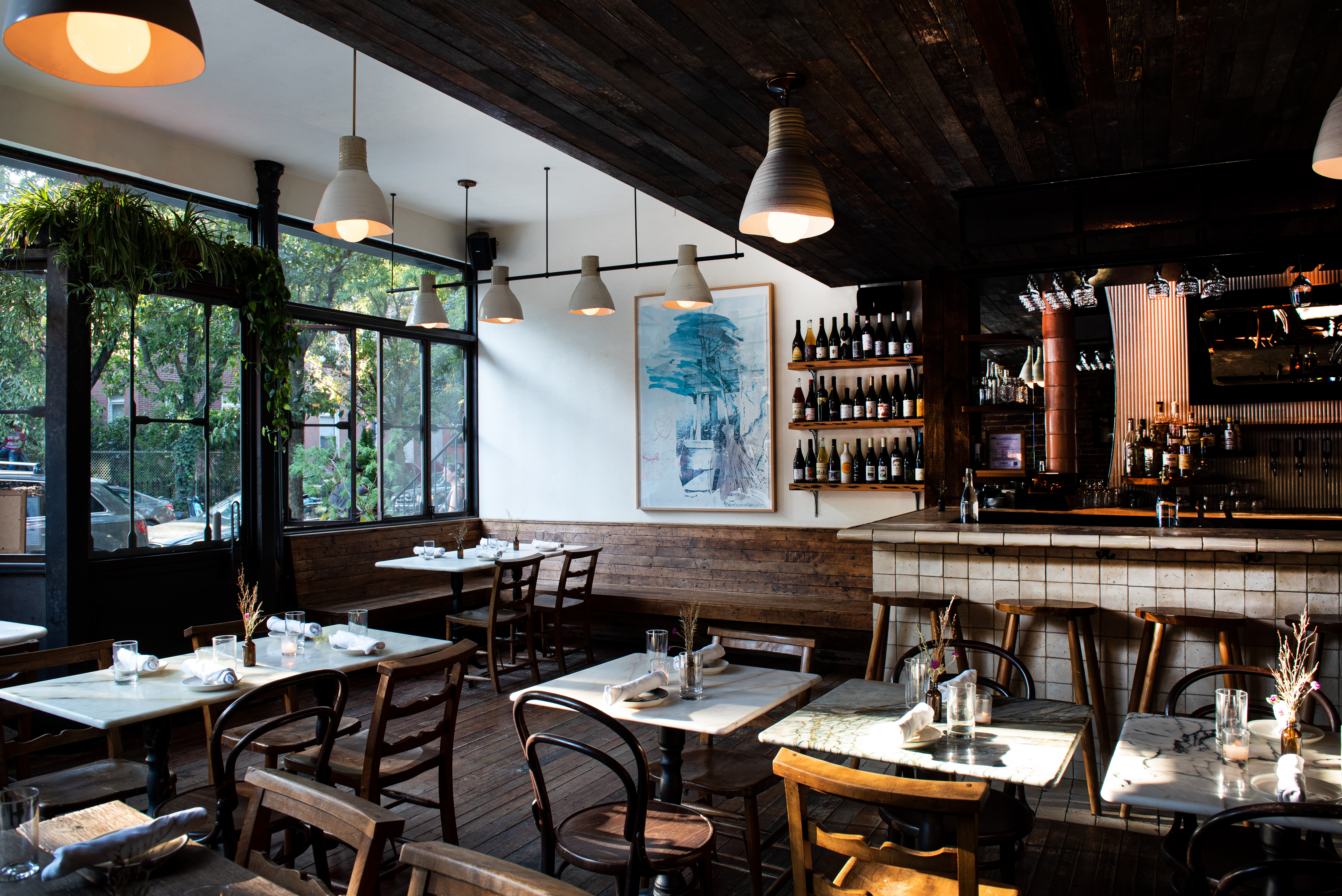 A Boundary-Pushing Natural Wine Bar Opens in Fort Greene With Zero-Waste Goal