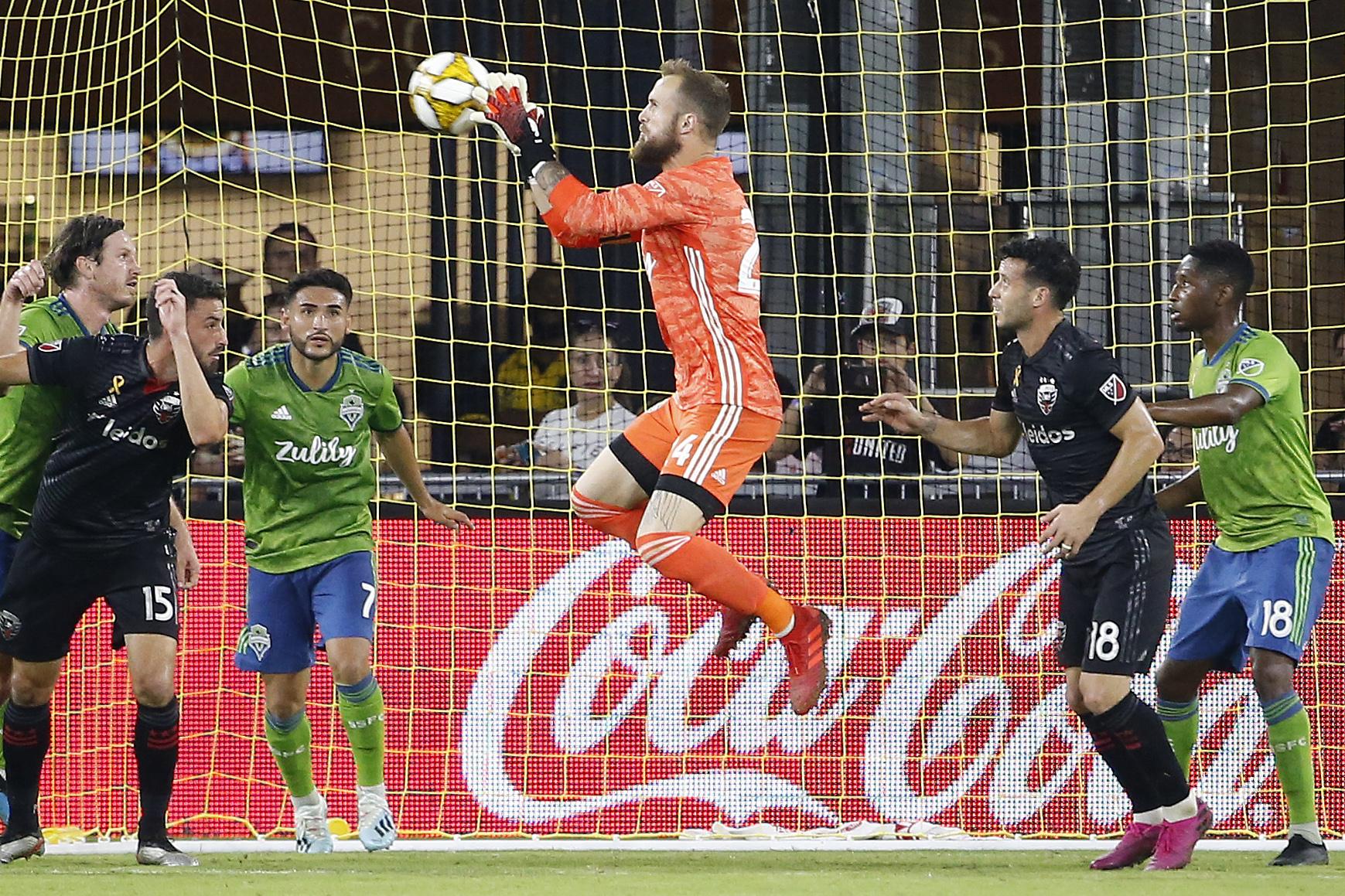 MLS:西雅图海湾FC在华盛顿联队
