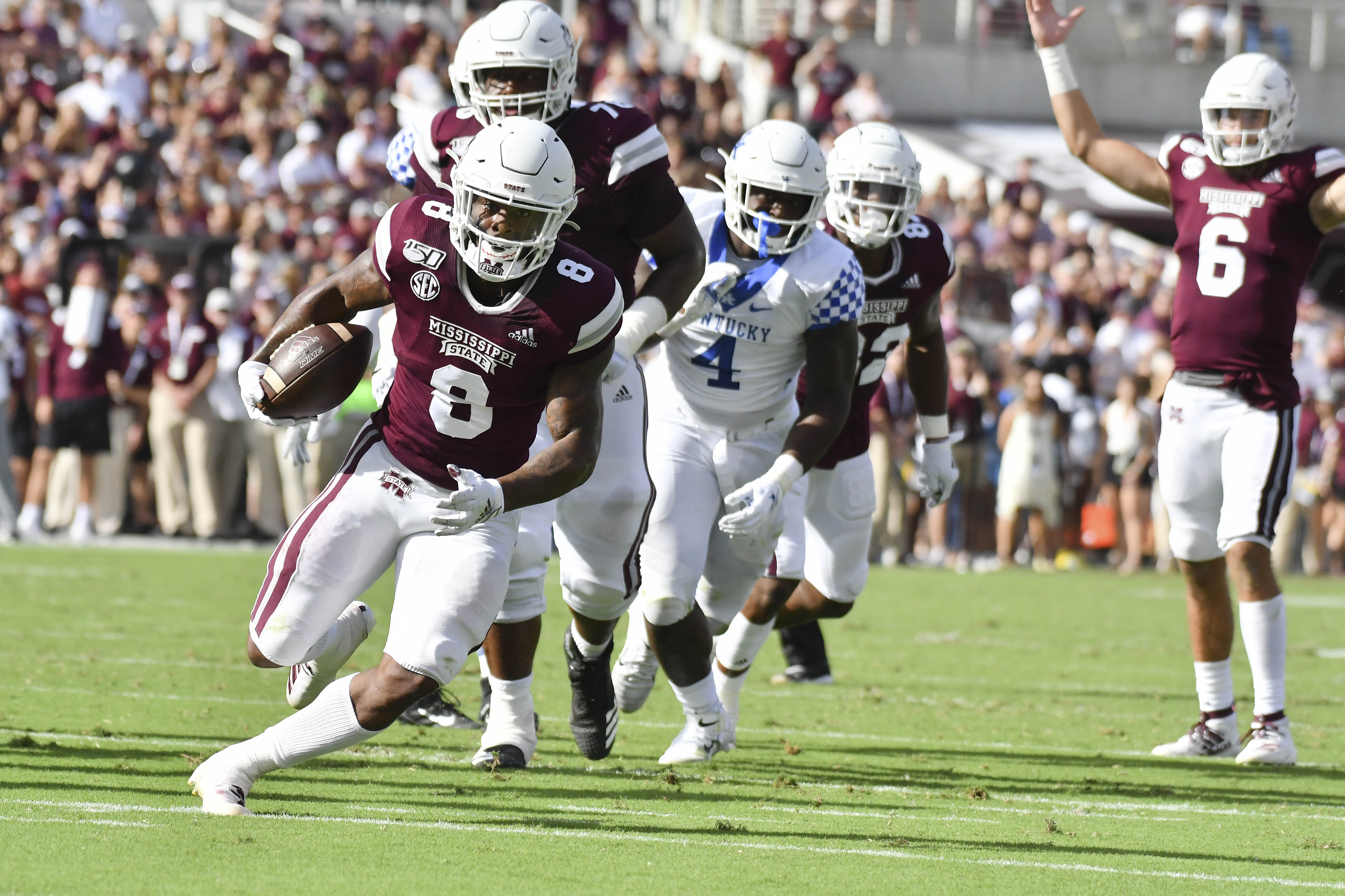 NCAA Football: Kentucky at Mississippi State