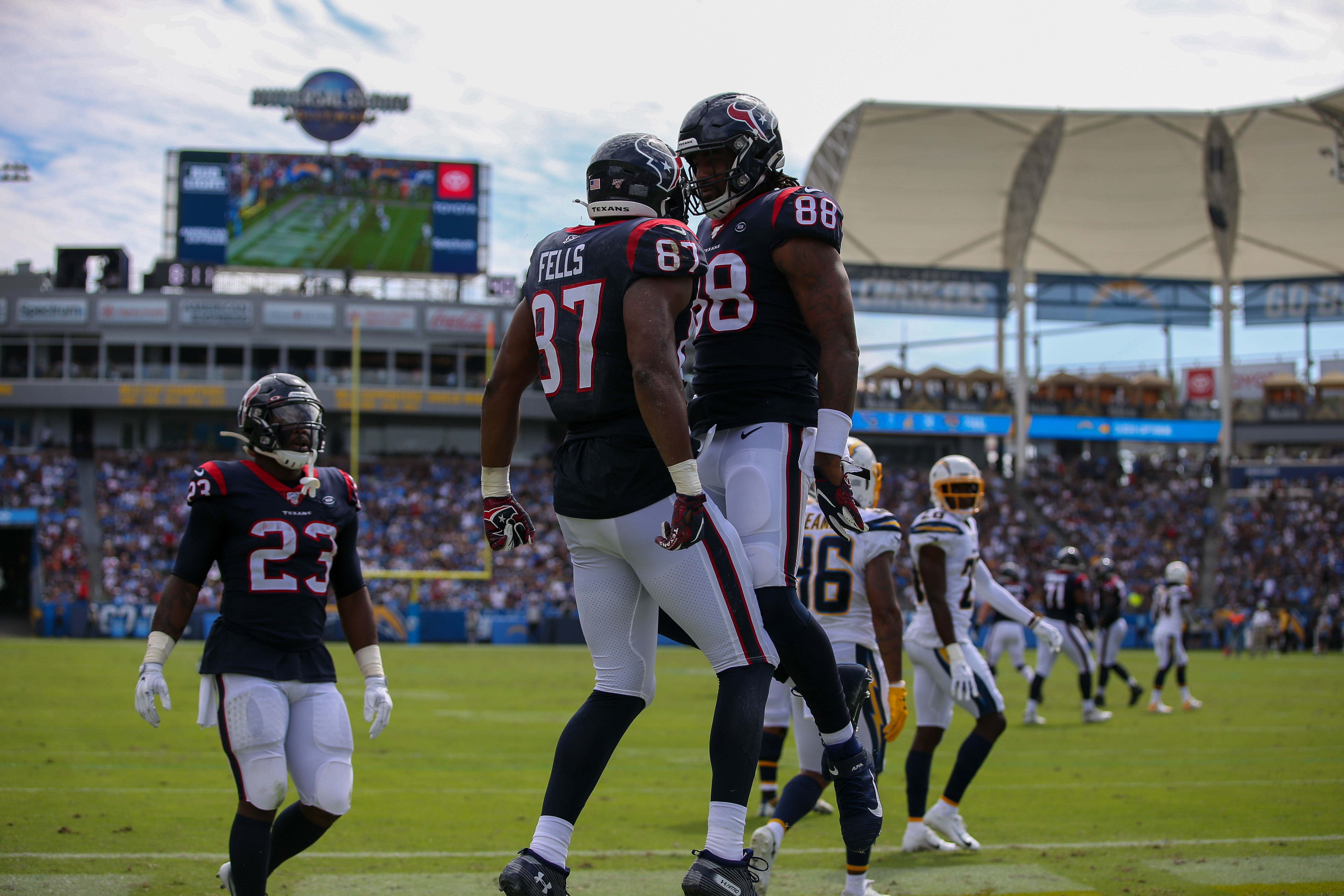 NFL: SEP 22 Texans at Chargers