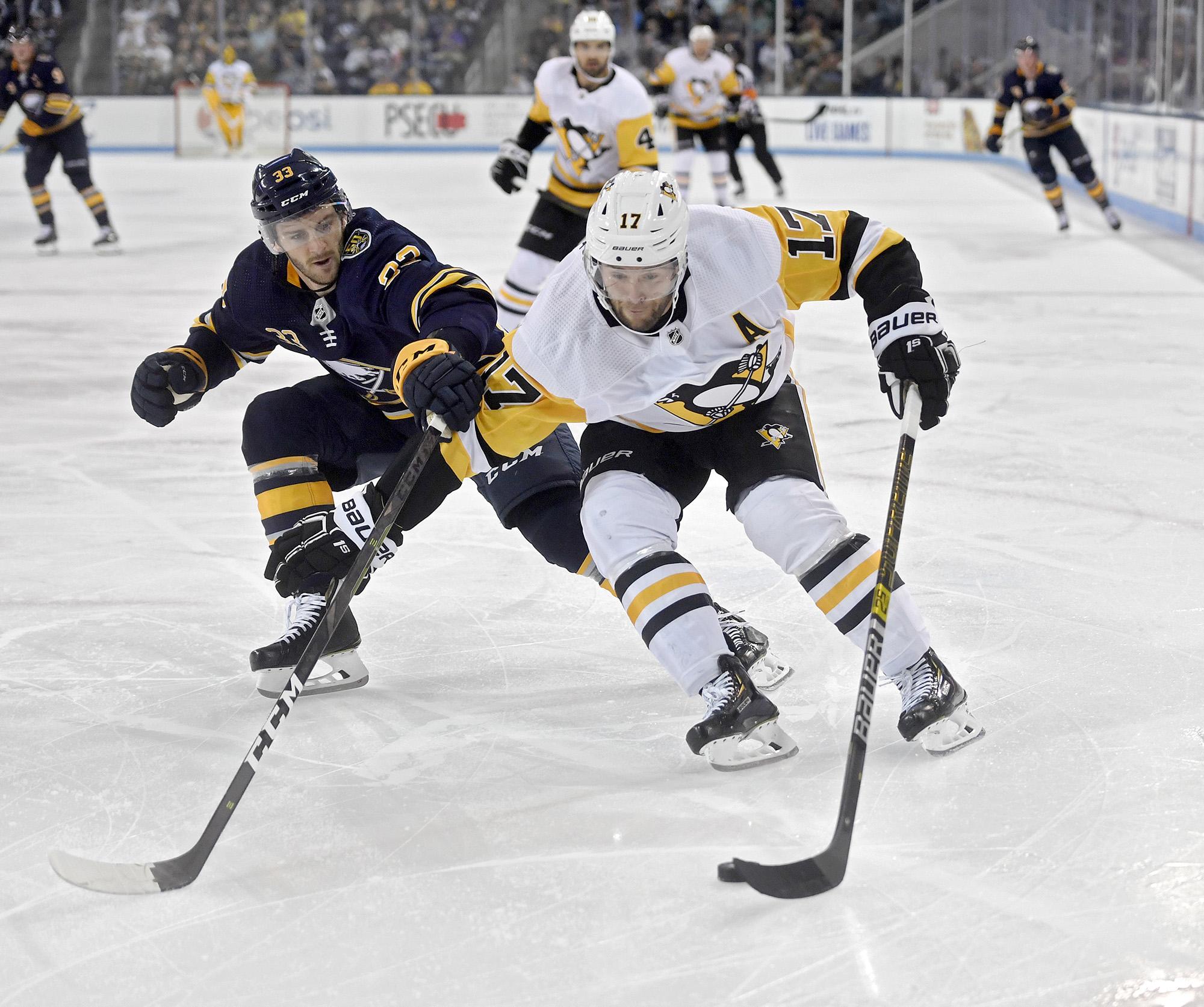 Pittsburgh Penguins vs. Buffalo Sabres preseason