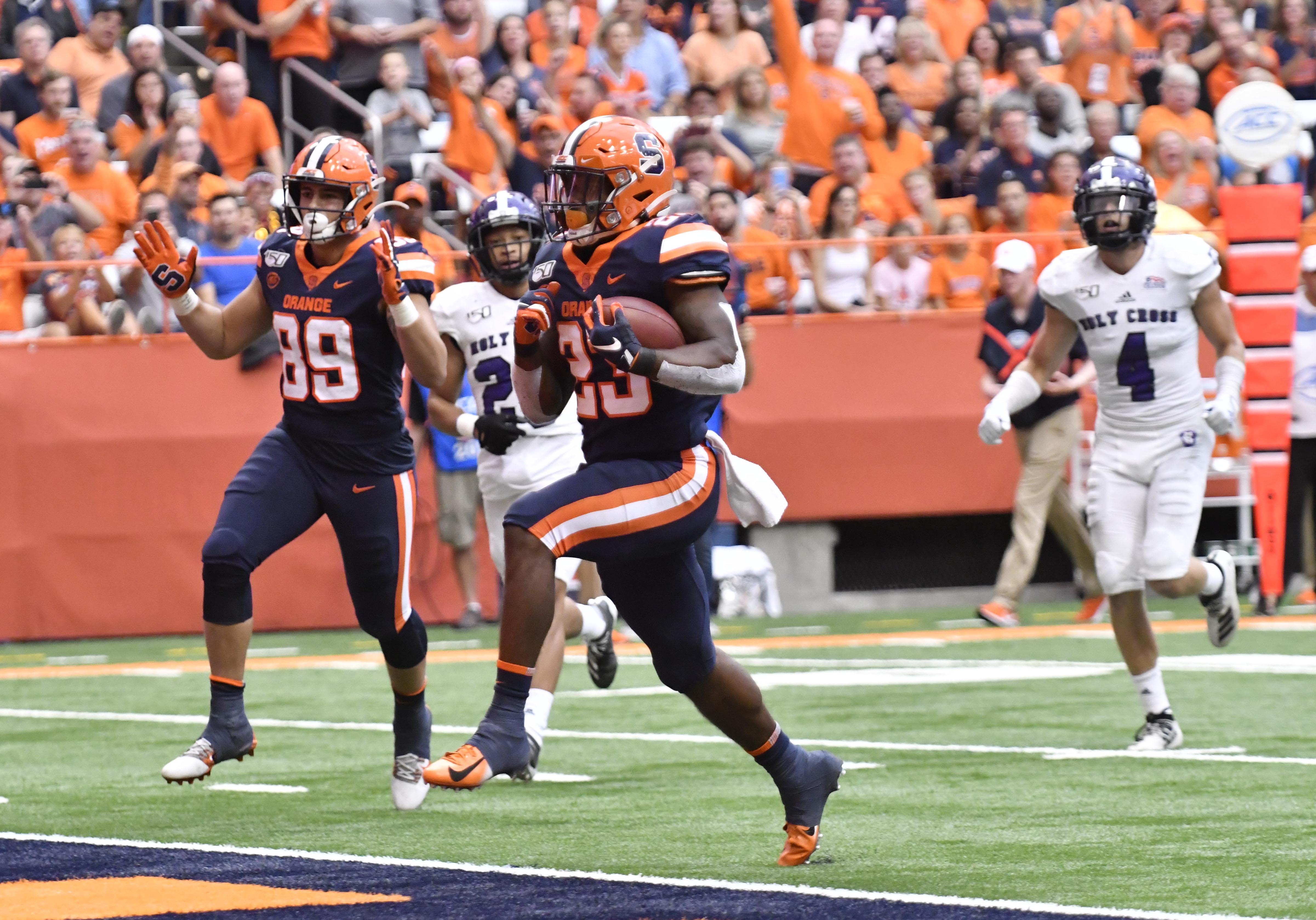 NCAA Football: Holy Cross at Syracuse