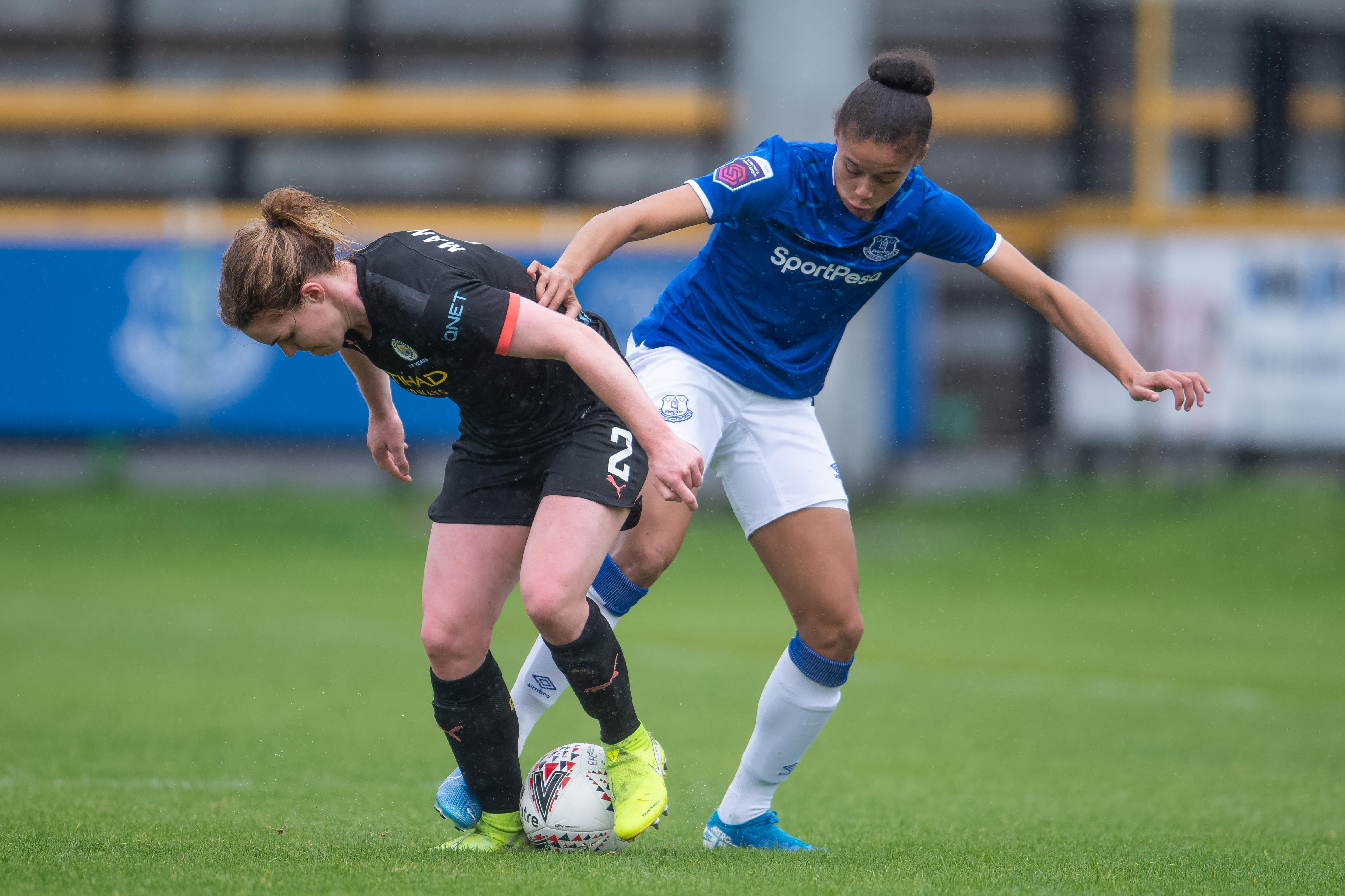 Everton v Manchester City - Barclays FA Women's Super League