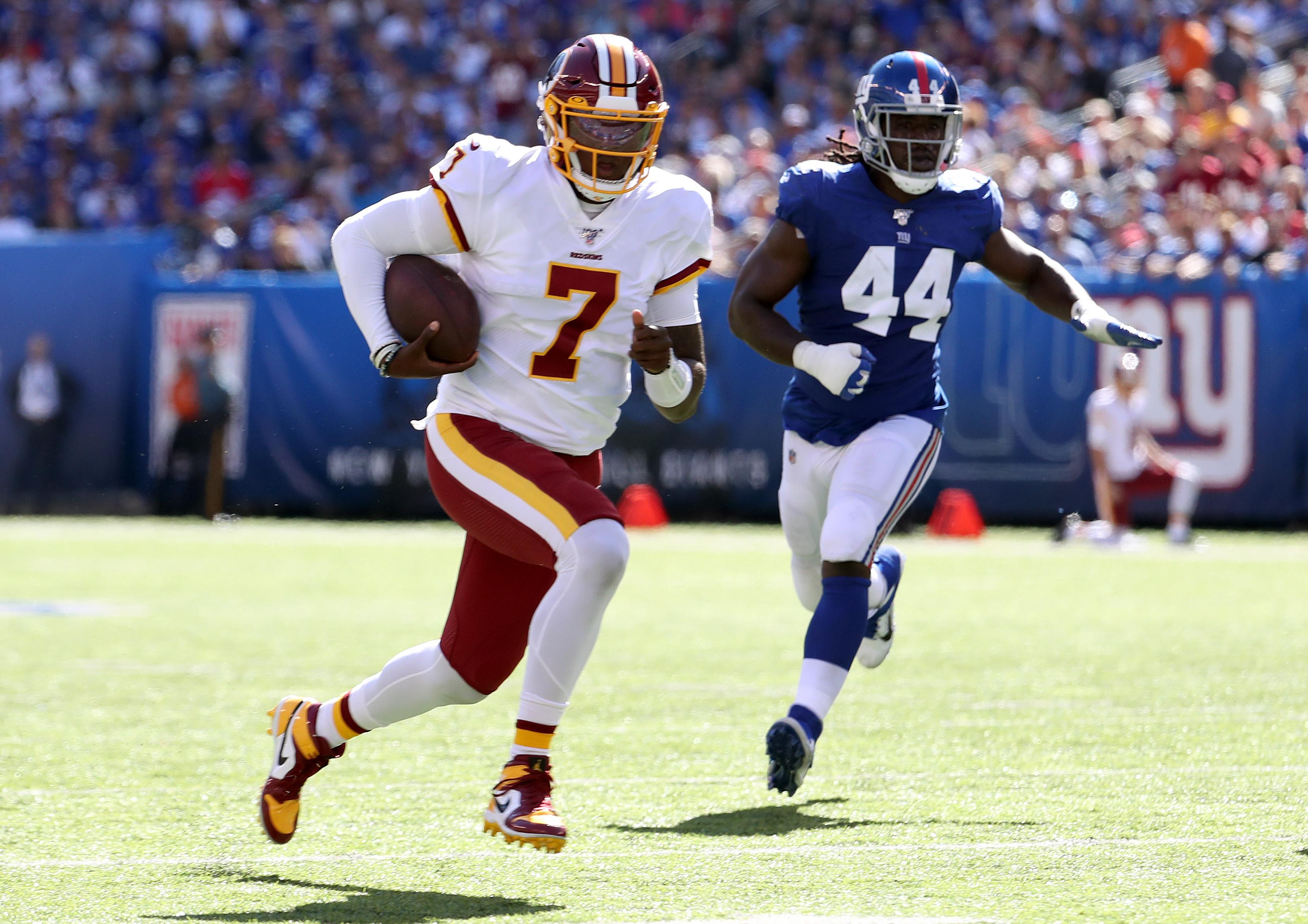 Washington Redskins vNew York Giants