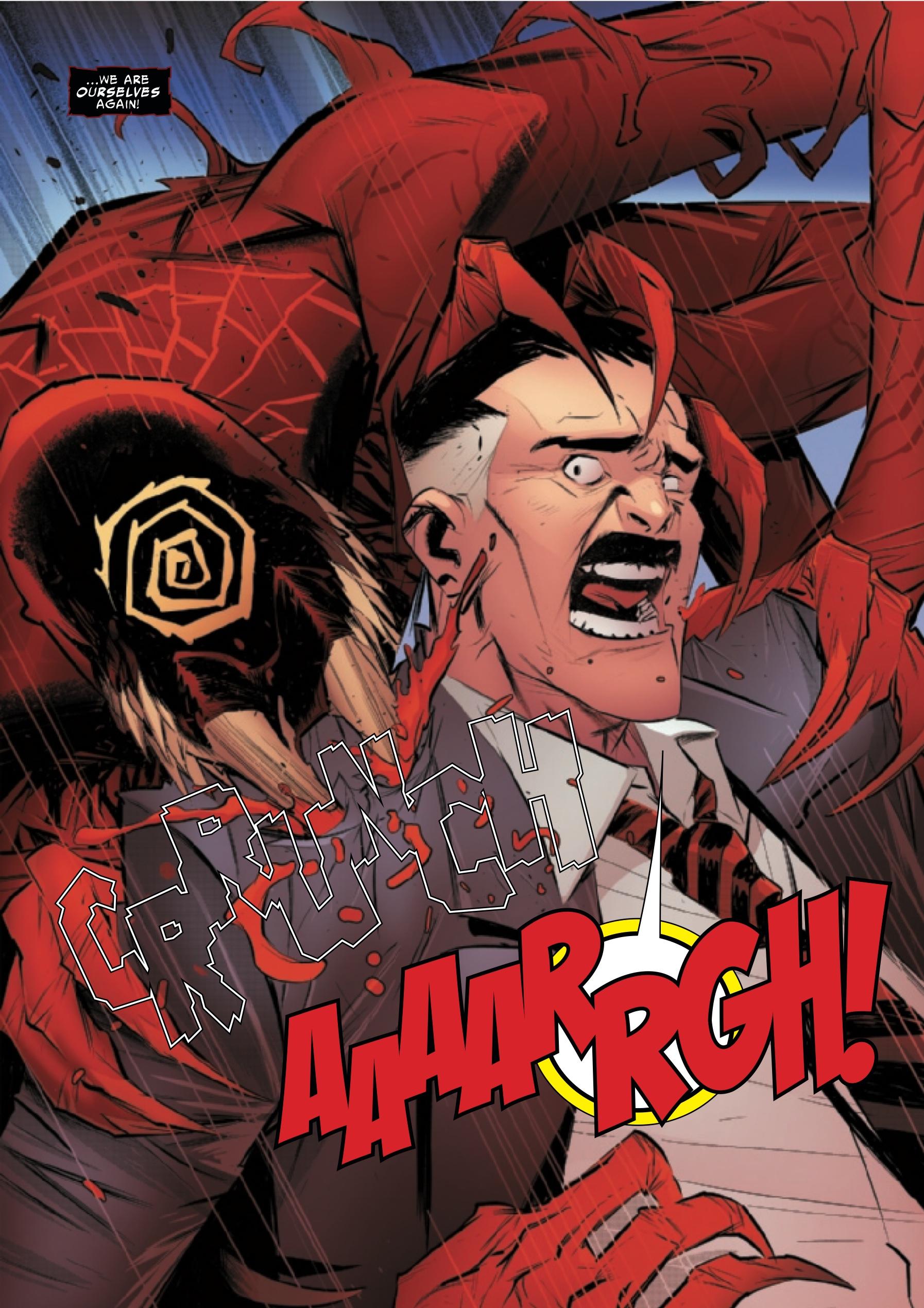 Miles Morales' Venom form is trying to murder J. Jonah Jameson