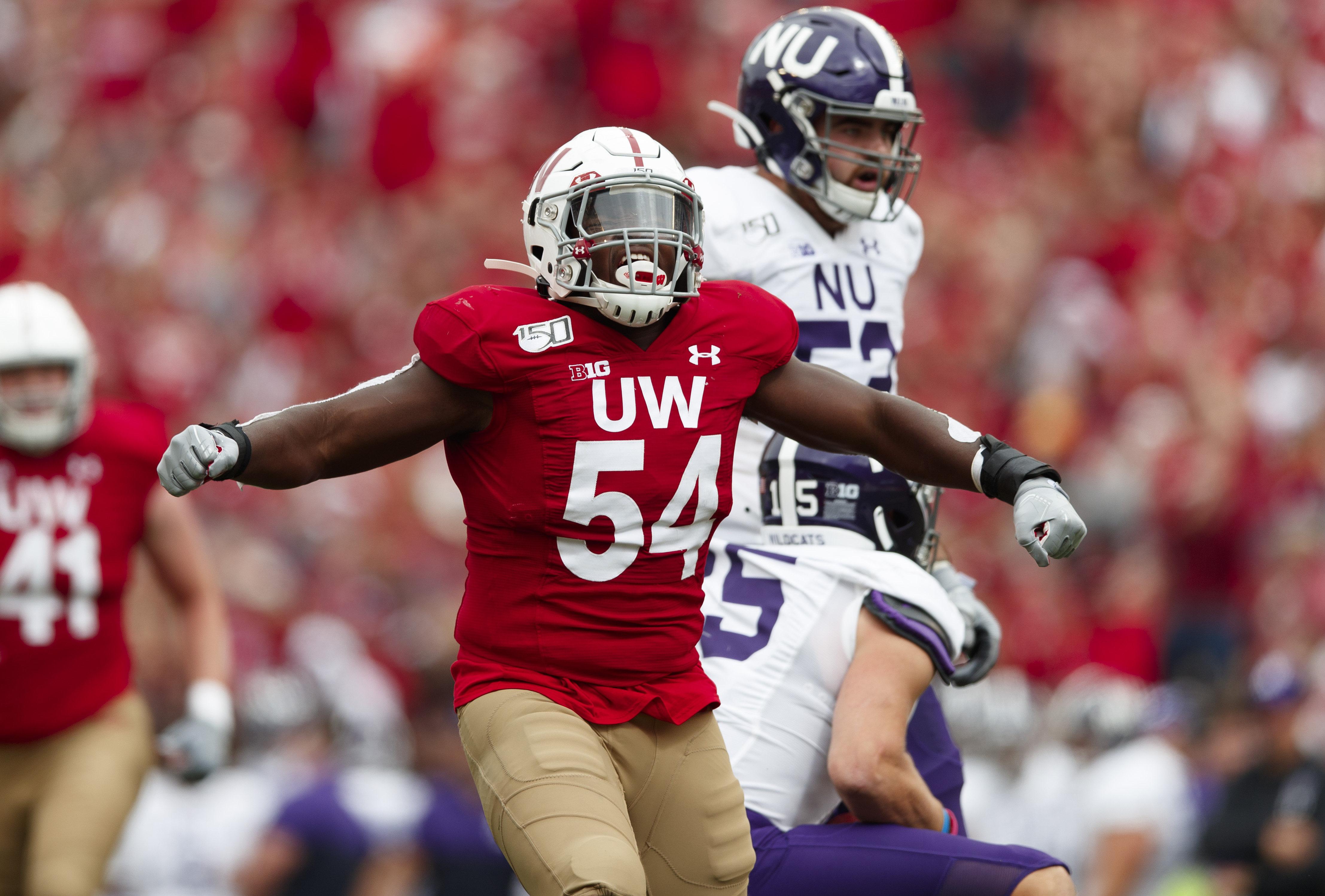 NCAA Football: Northwestern at Wisconsin