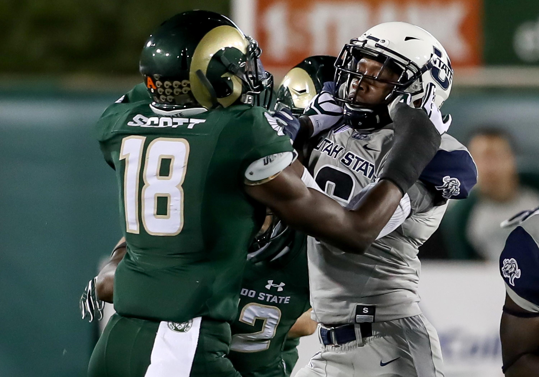 NCAA FOOTBALL: OCT 08 Utah State at Colorado State