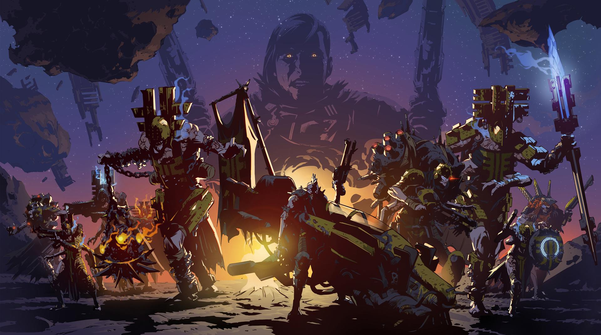 Destiny 2: Forsaken - artwork of Prince Uldren Sov and the Barons
