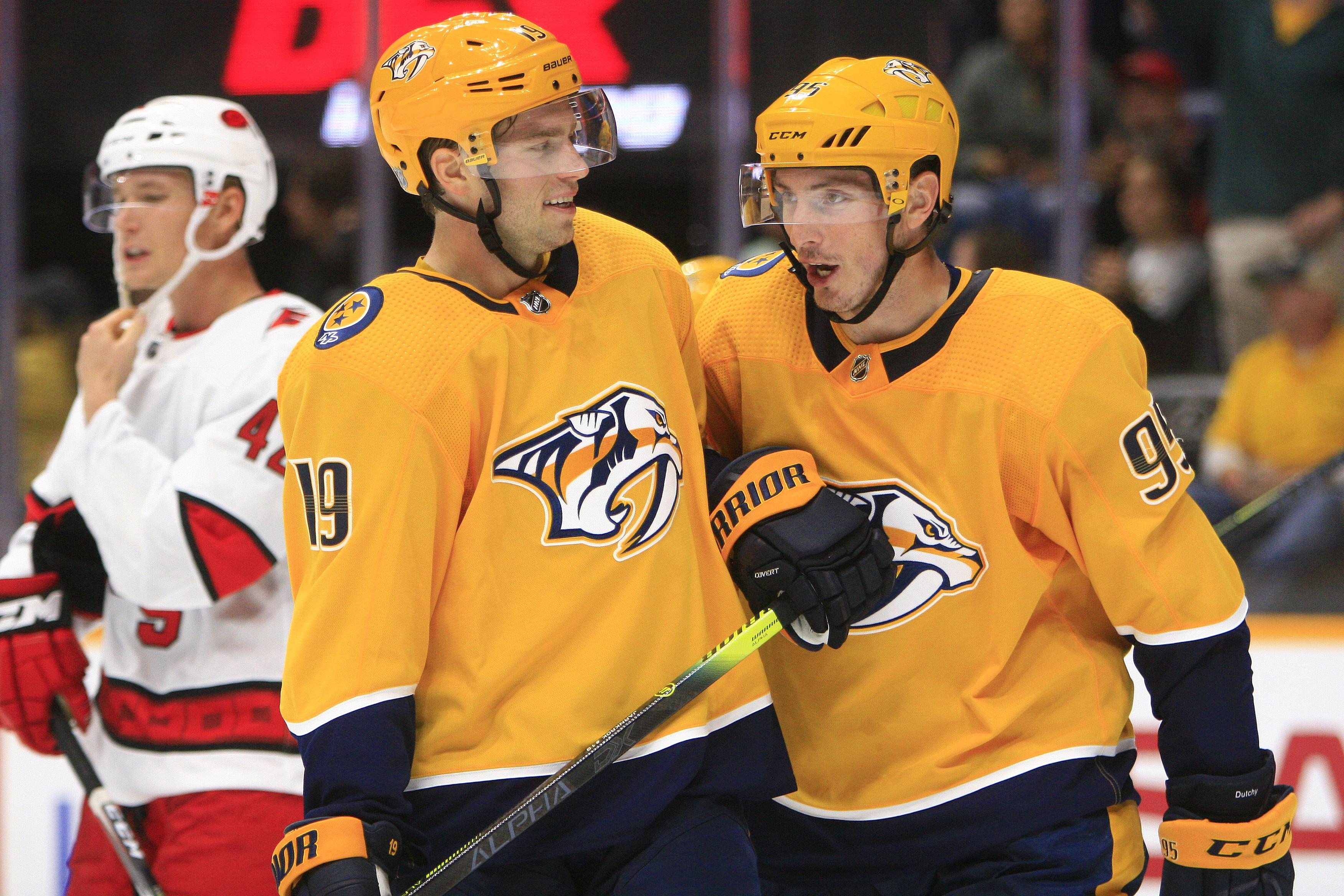 NHL: SEP 25 Preseason - Hurricanes at Predators