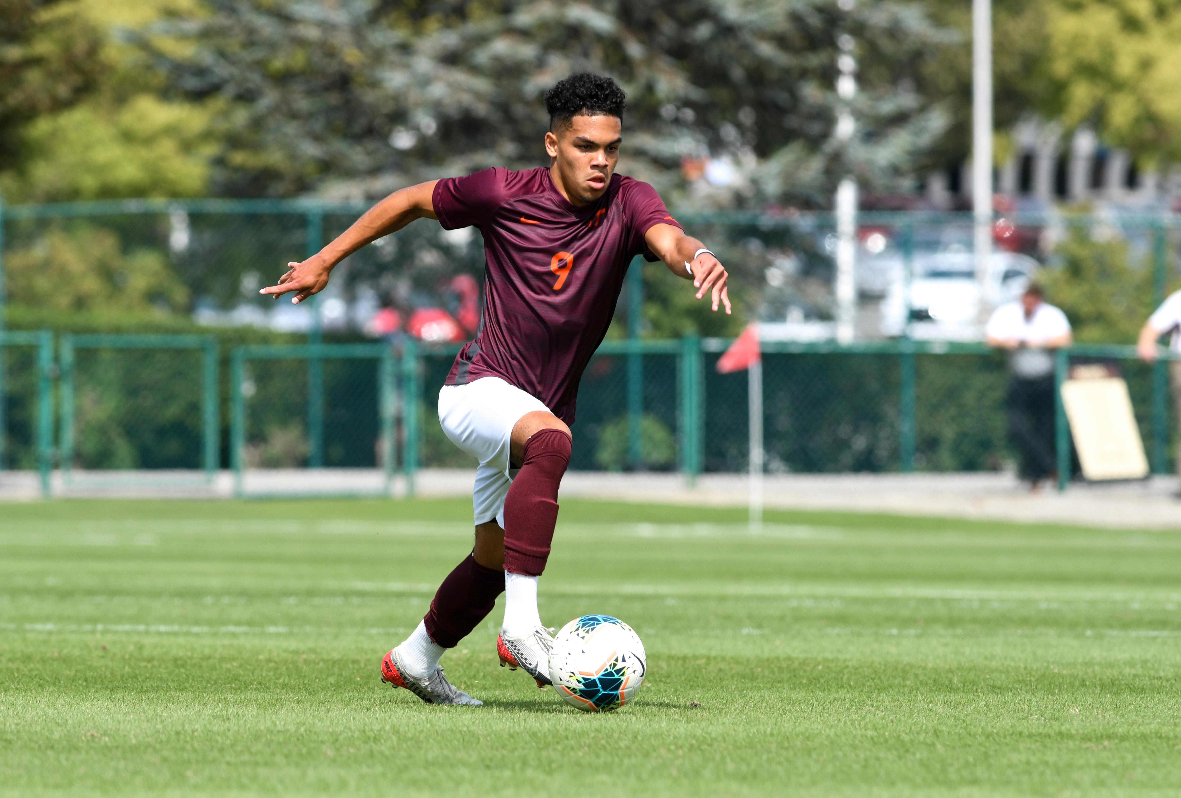 Daniel Pereira. Virginia Tech Men's Soccer Team.
