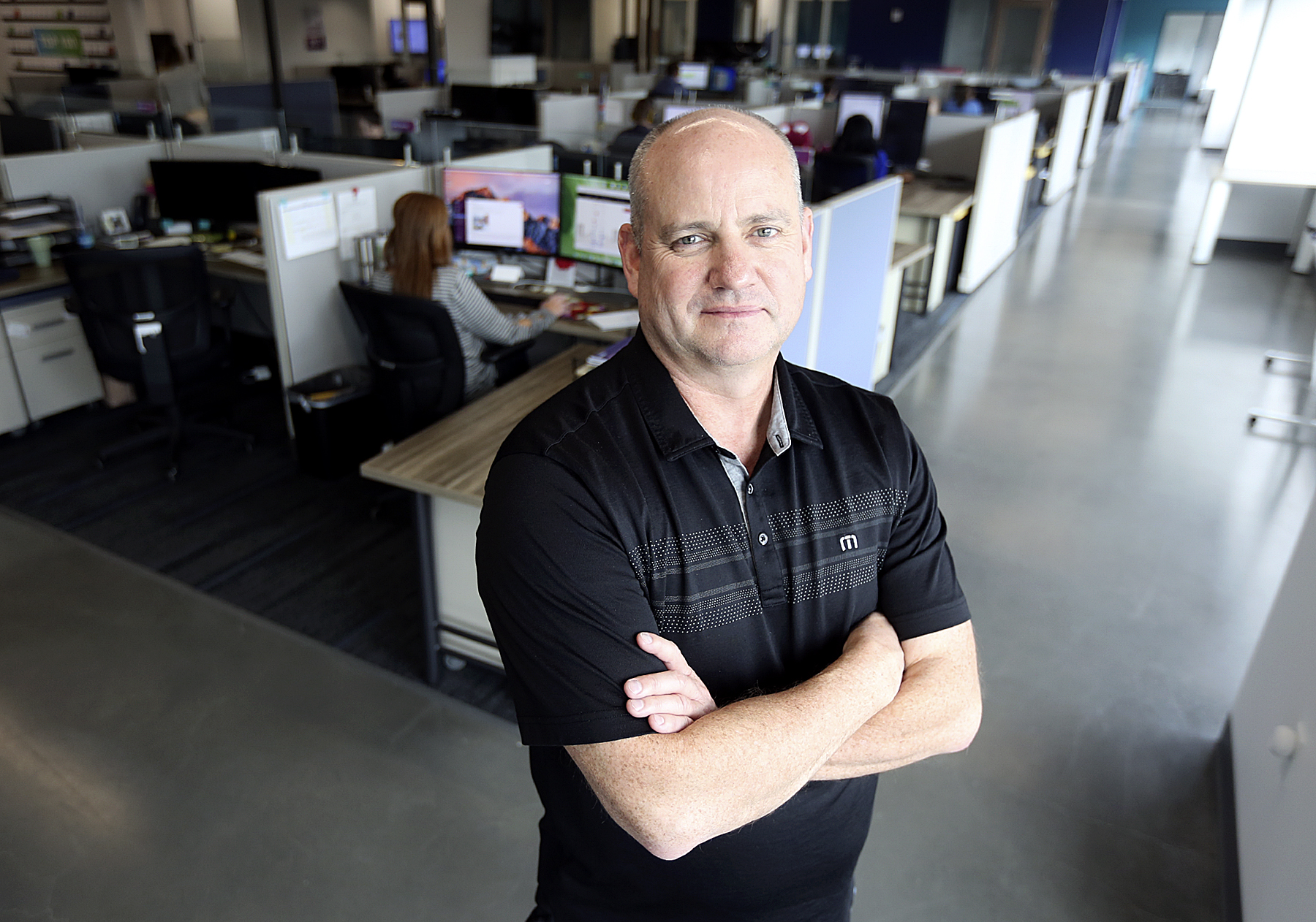 Steve Smith, Finicity CEO and co-founder, poses for a photograph at Finicity in Murray on Friday, Sept. 27, 2019.