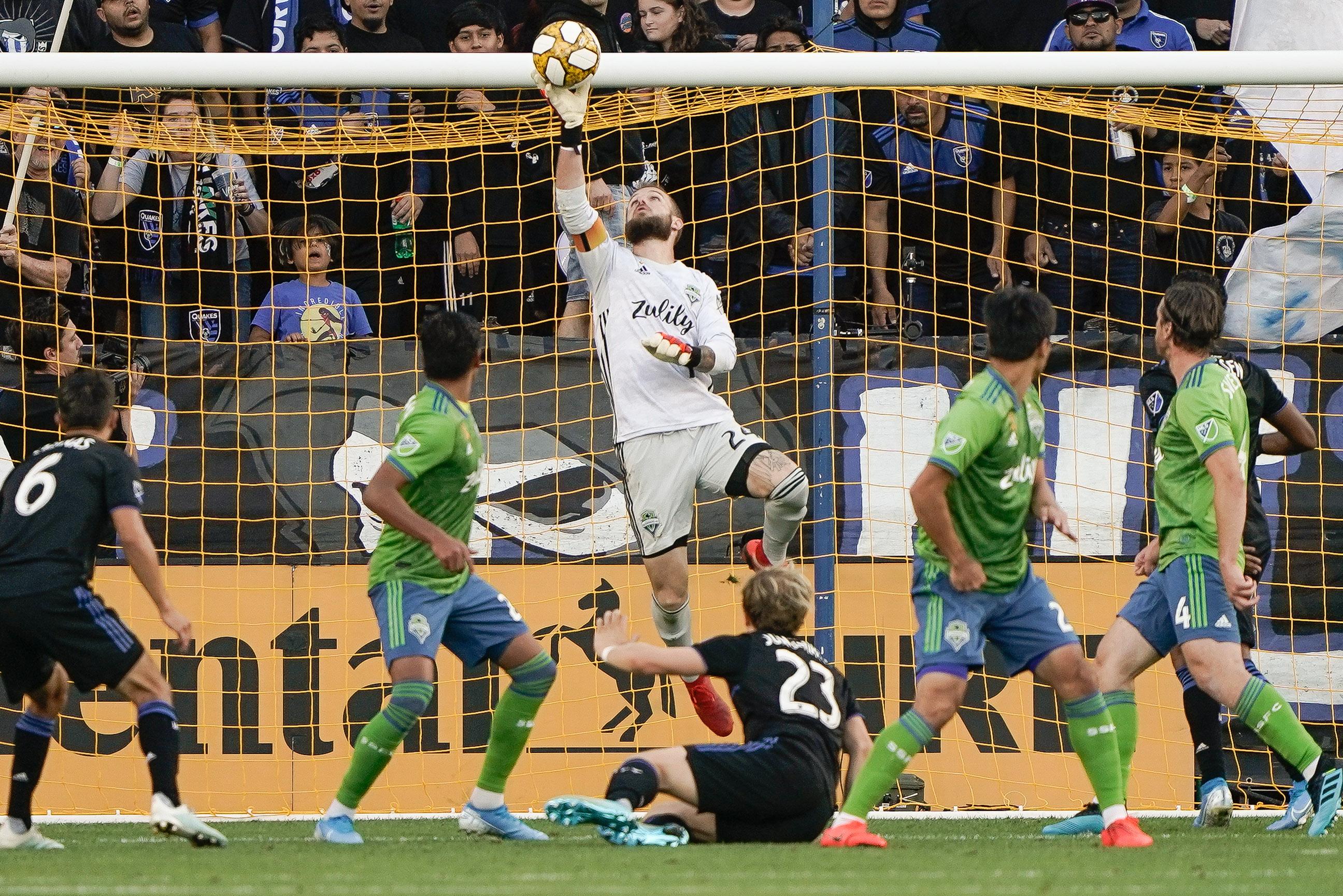 MLS:西雅图海湾FC在圣何塞地震