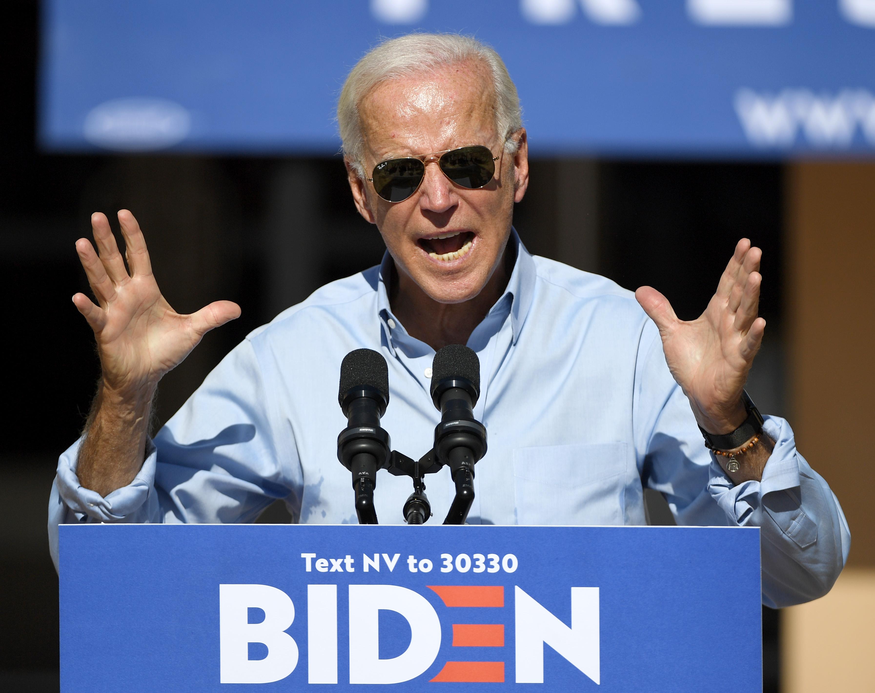 Joe Biden's gun plan calls for universal background checks and an assault weapons ban