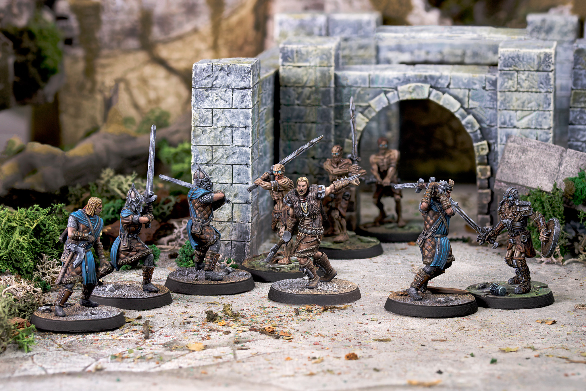 A new Elder Scrolls miniatures game captures the chaos of Skyrim's open world