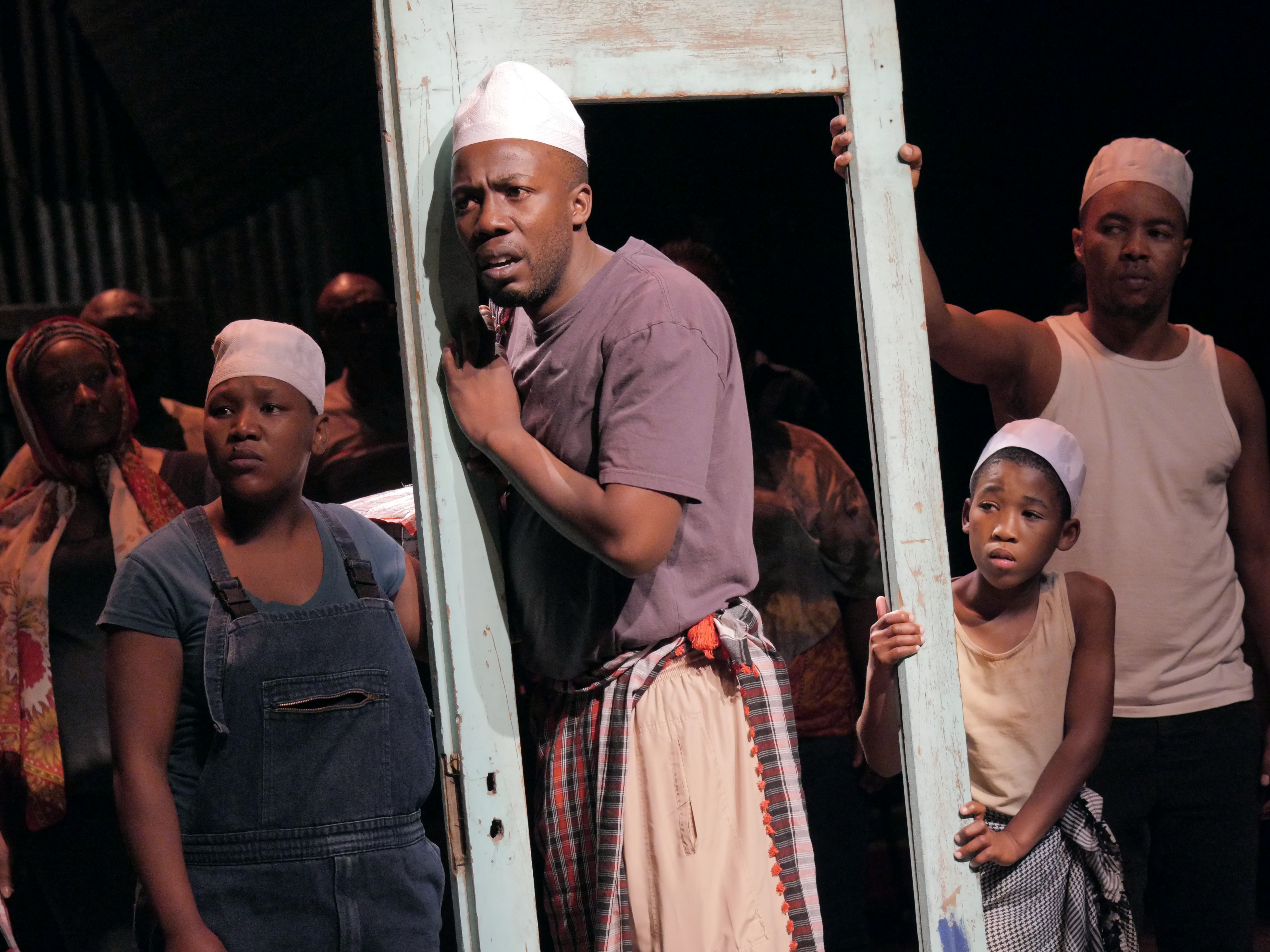 "Chicago Shakespeare Theater is presenting Isango Ensemble's ""A Man of Good Hope,"" based on the book by Jonny Steinberg and adapted and directed by Mark Dornford-May."