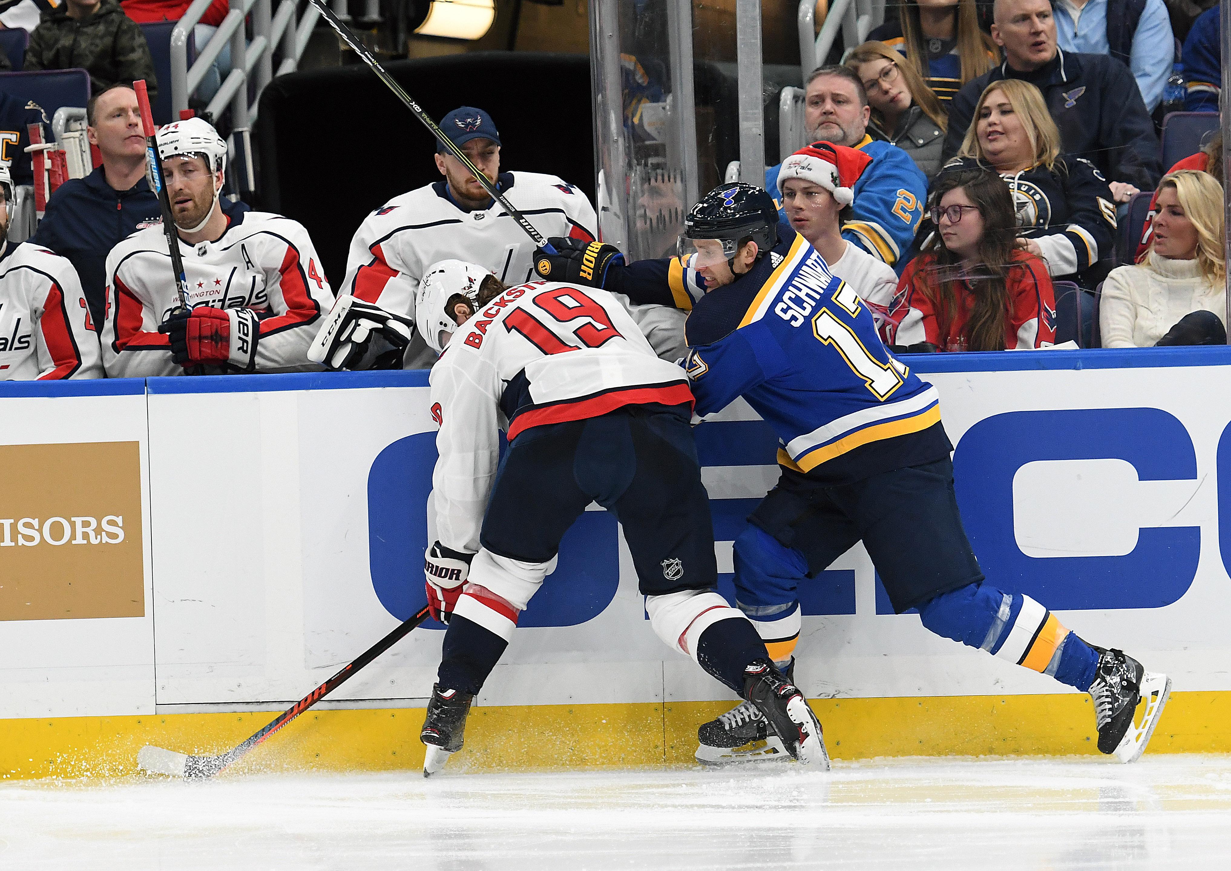 NHL: JAN 03 Capitals at Blues